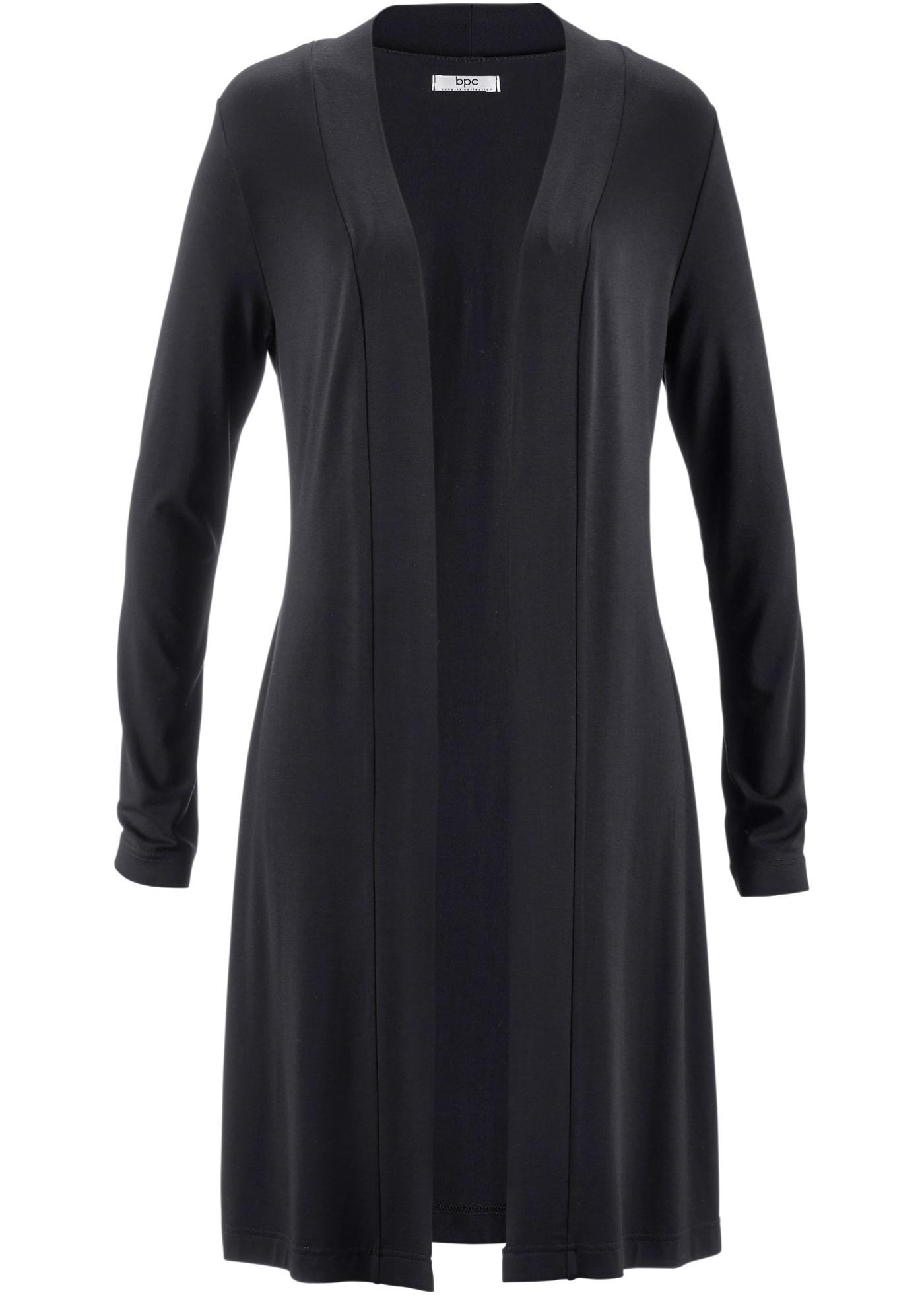 Longues Noir Long Fluide Pour Bonprix Manches Bpc CollectionGilet Femme R35LAjq4