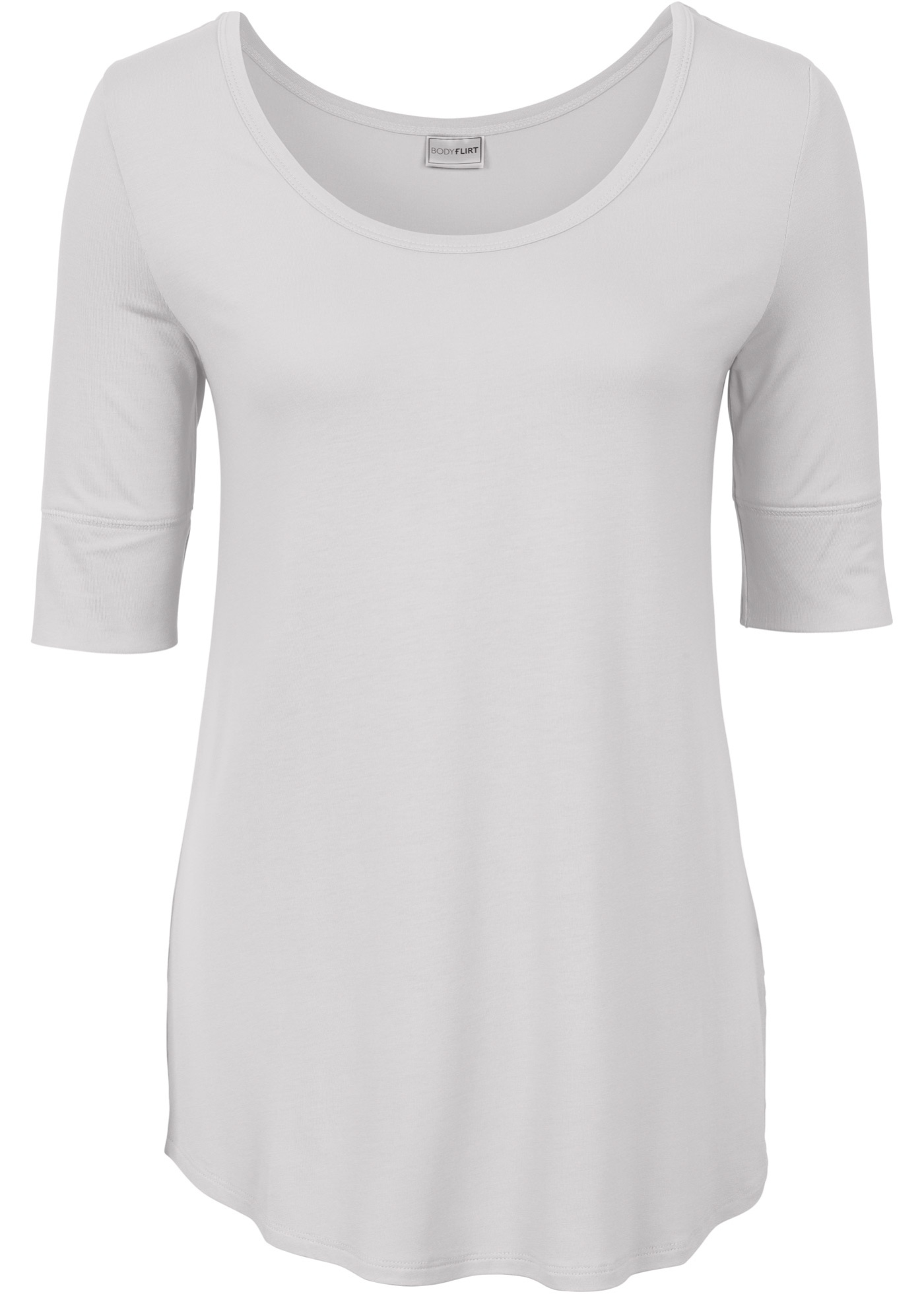 Bodyflirt Pour 3 BonprixT 4 shirt Gris Manches Femme PiOkuTZwXl