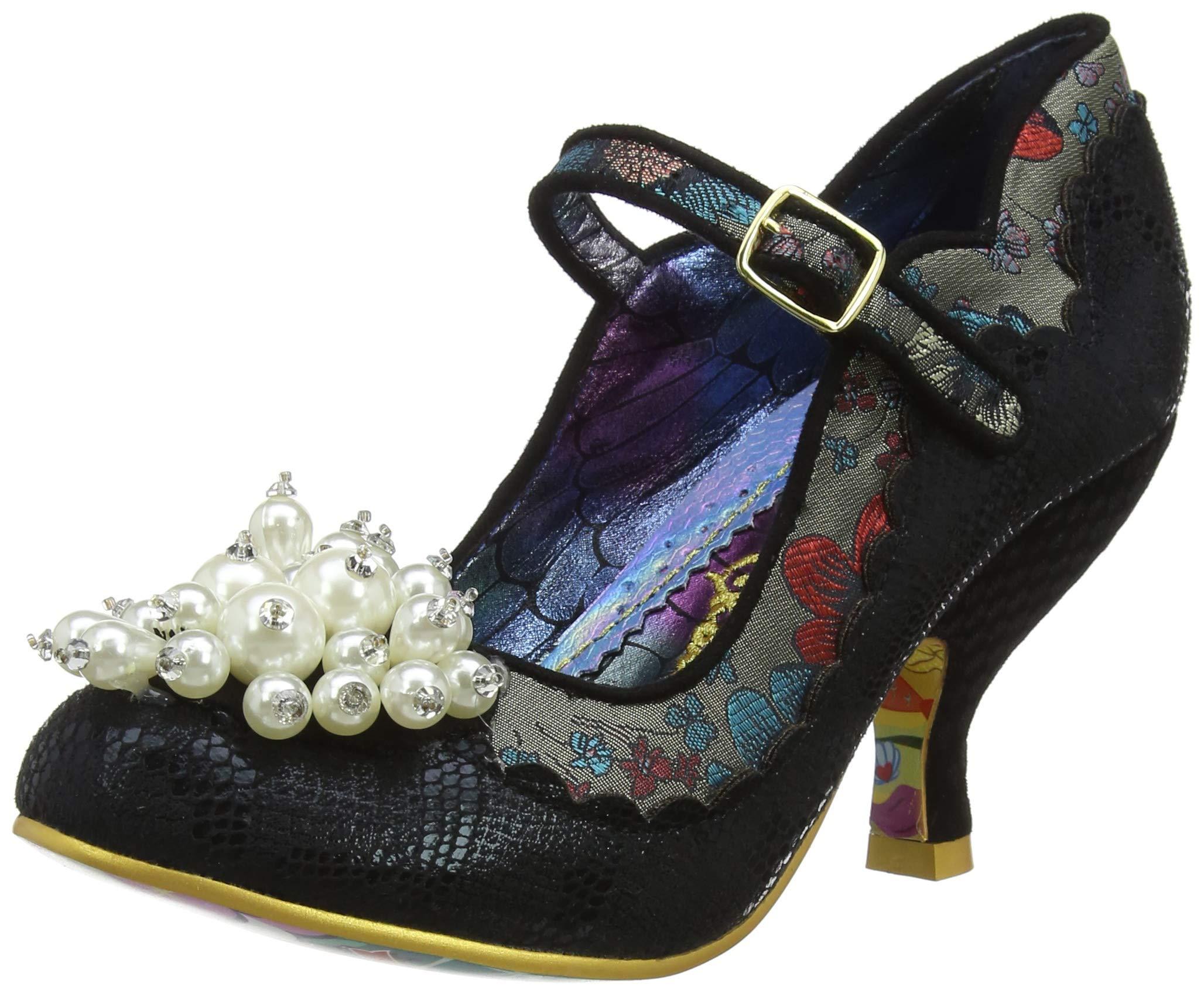 Janes Eu Choice FemmeNoirblack C39 ShoesburyMary Irregular thrdBoQxCs