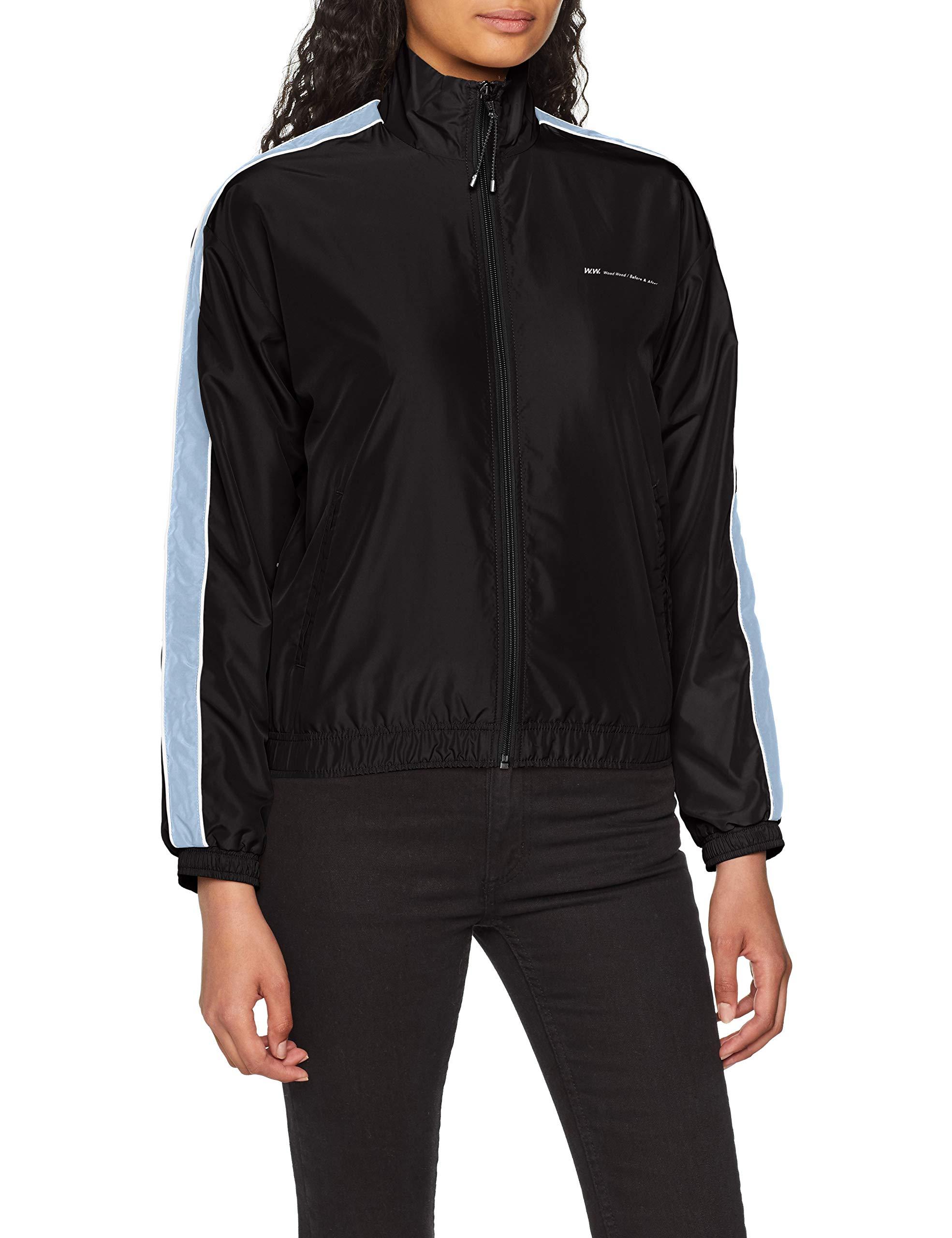 Wood Jacket BlousonSchwarz Tekla Black36 Femme tdCQrhs