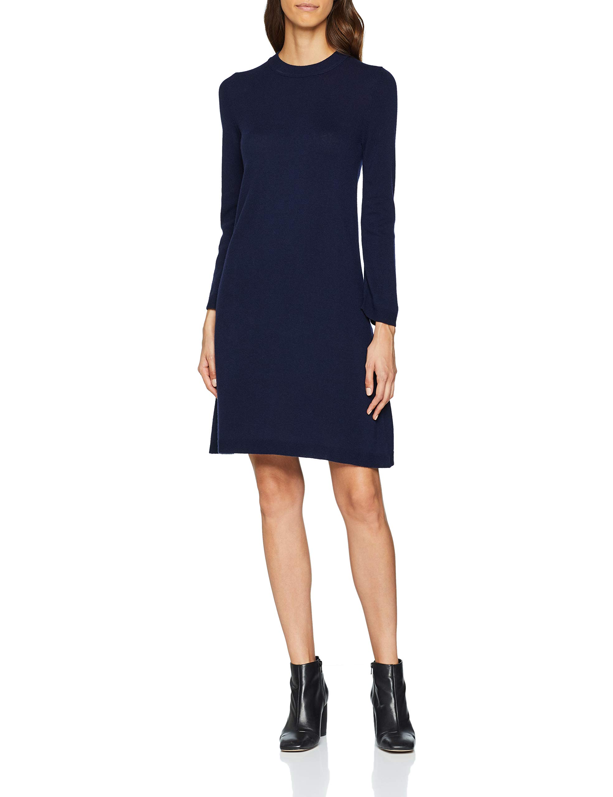 Blue United Benetton Dress 016Large RobeBleudark Colors Of Femme jLqAR345cS