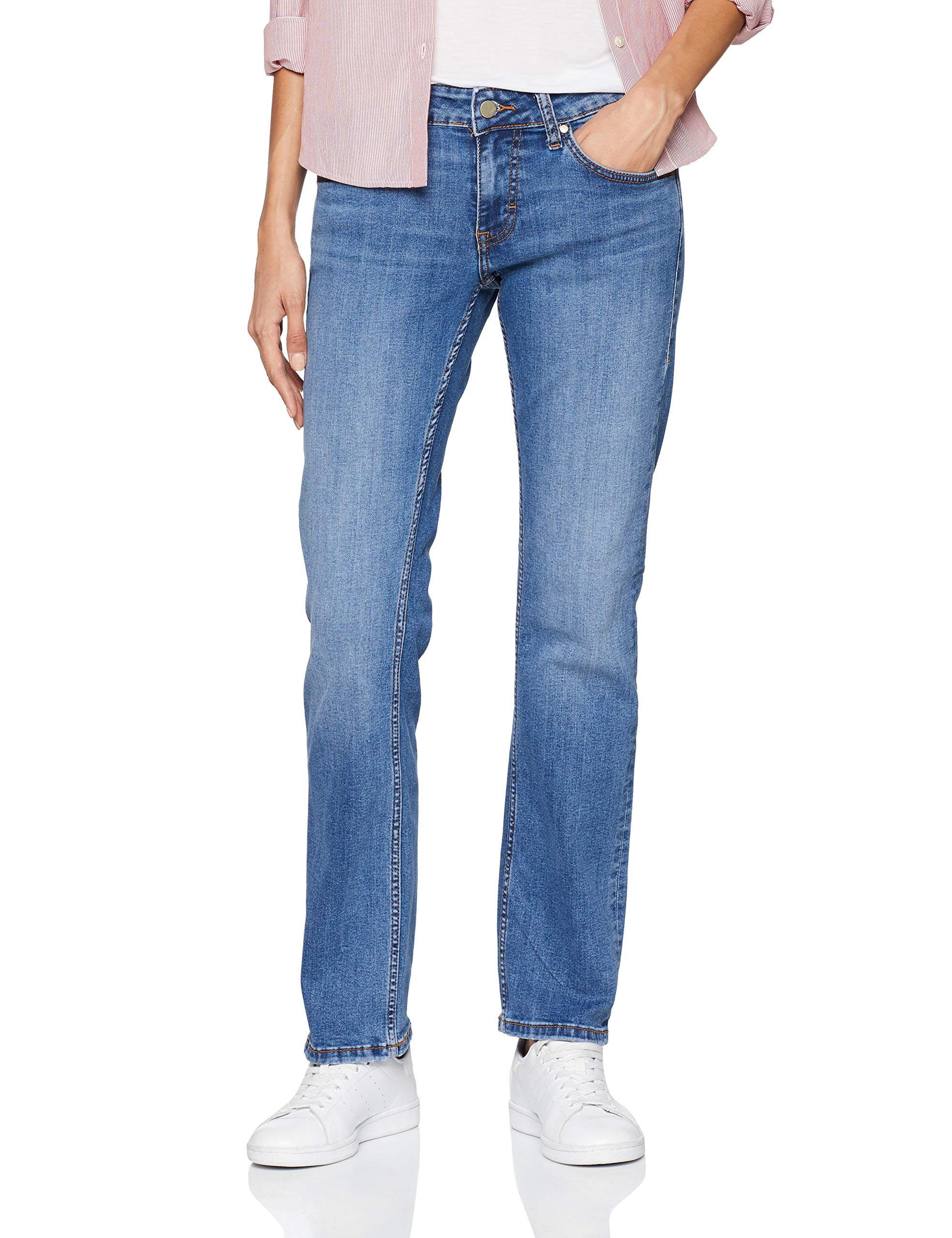 32Femme Fabricant30 Jean DroitBleumedium l32taille Sissy 412W30 Middle Straight Mustang vw80nmN
