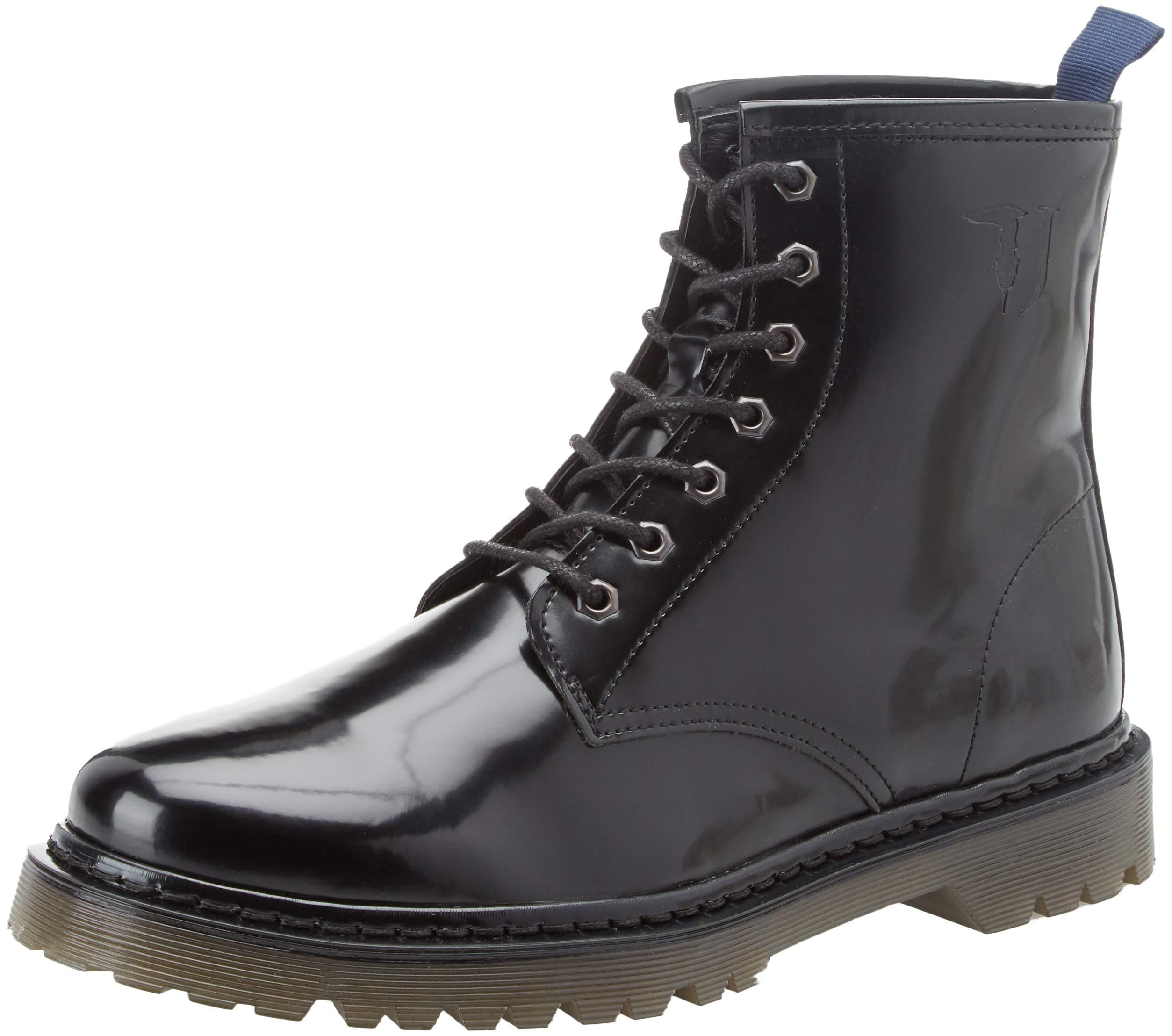 Rangers HommeNoirneroblack7779K29943 Boot Pyramid Eu Jeans Trussardi Combat Bottines StudsBottesamp; nOPX80kw