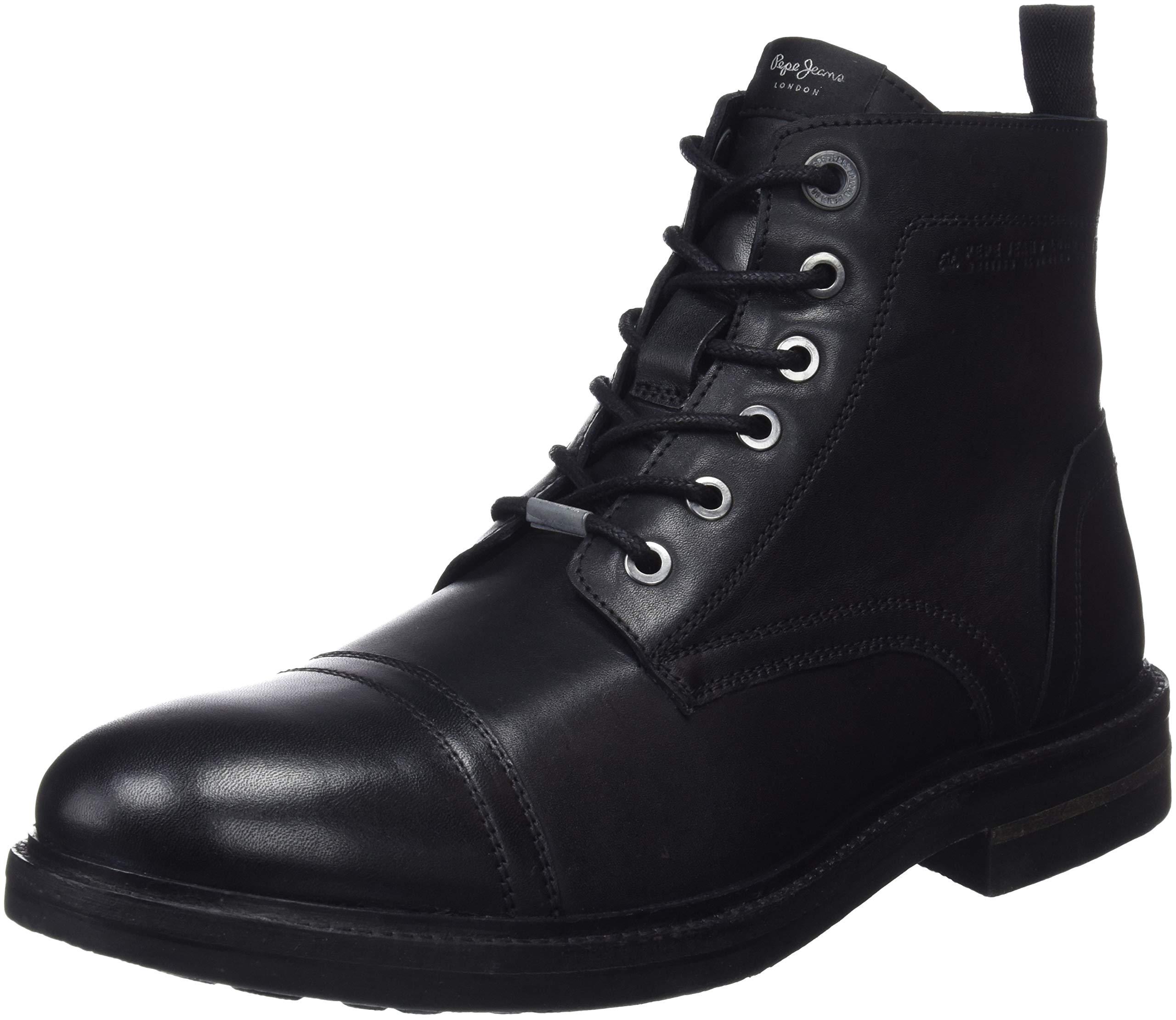 99946 Eu Jeans Pepe London Hubert Bottines Classiques BootBottesamp; HommeNoirblack R4j5AL