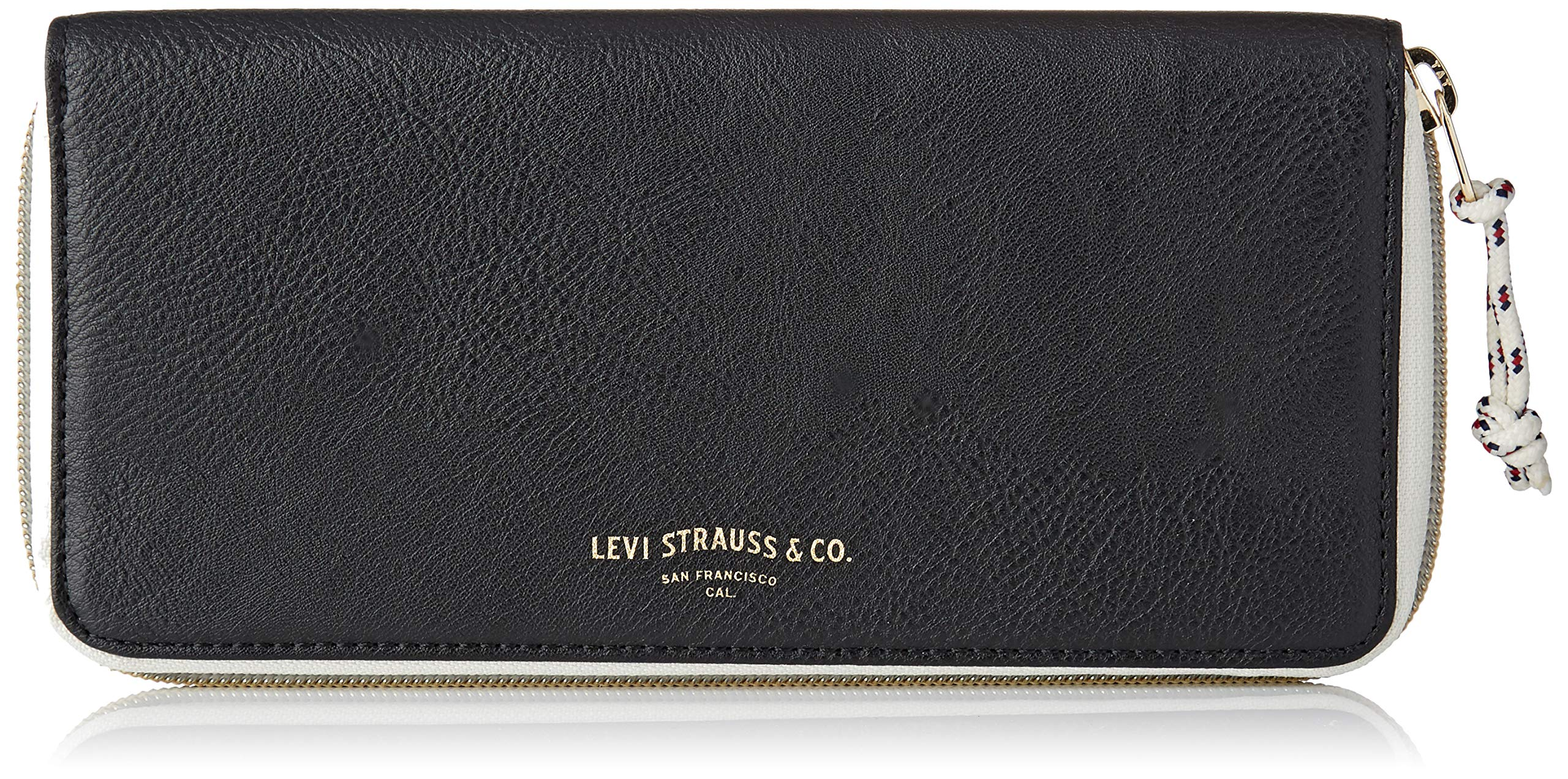 Regular Long Portefeuille Wave Sac Noirnoir Zip Wallet Black Et Homme Levi's ALqj354R
