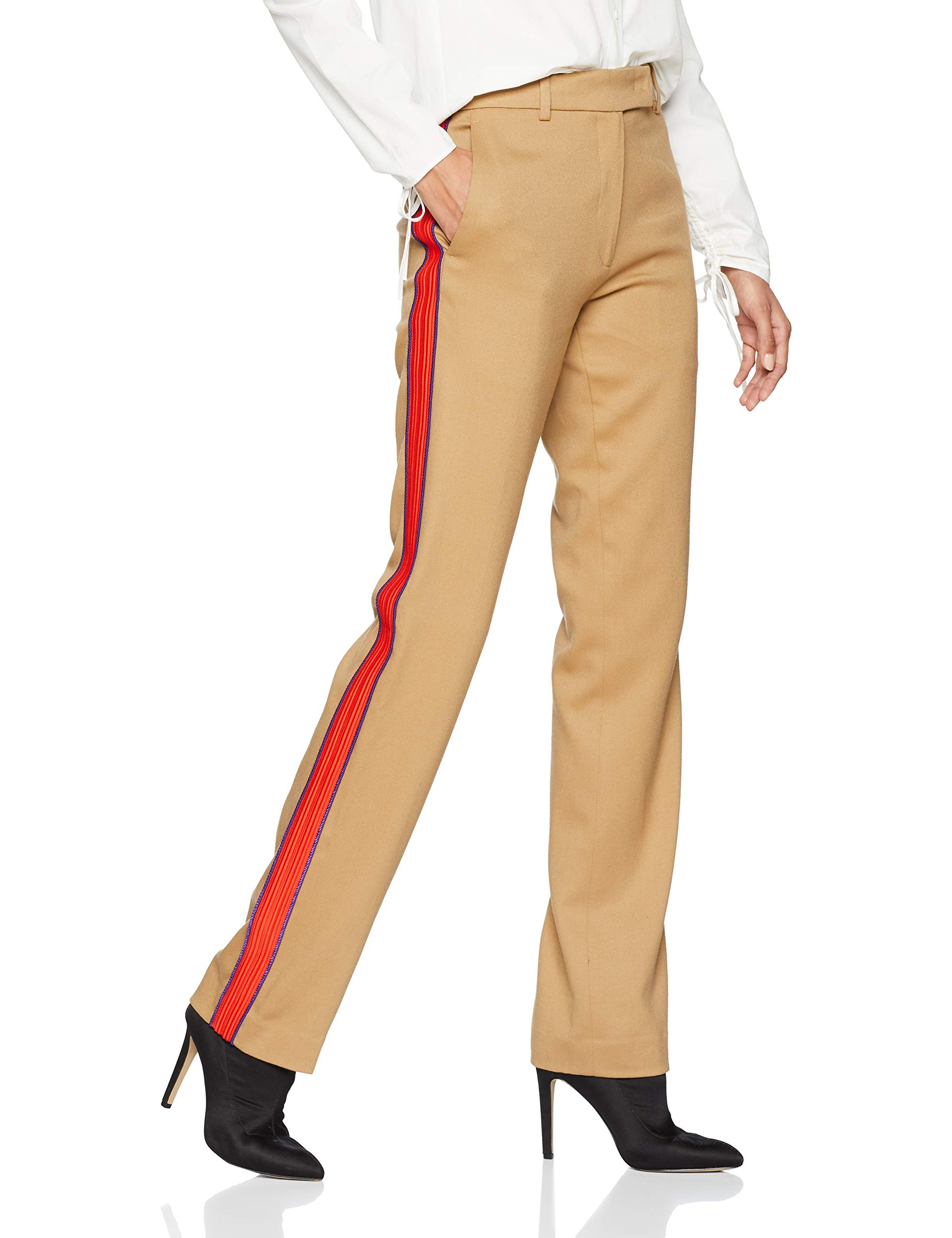 Du Pinko taille 46Femme Flanellabeige C9844 Ermanno Tannino Pantalone Fr Fabricante 80OwPkn