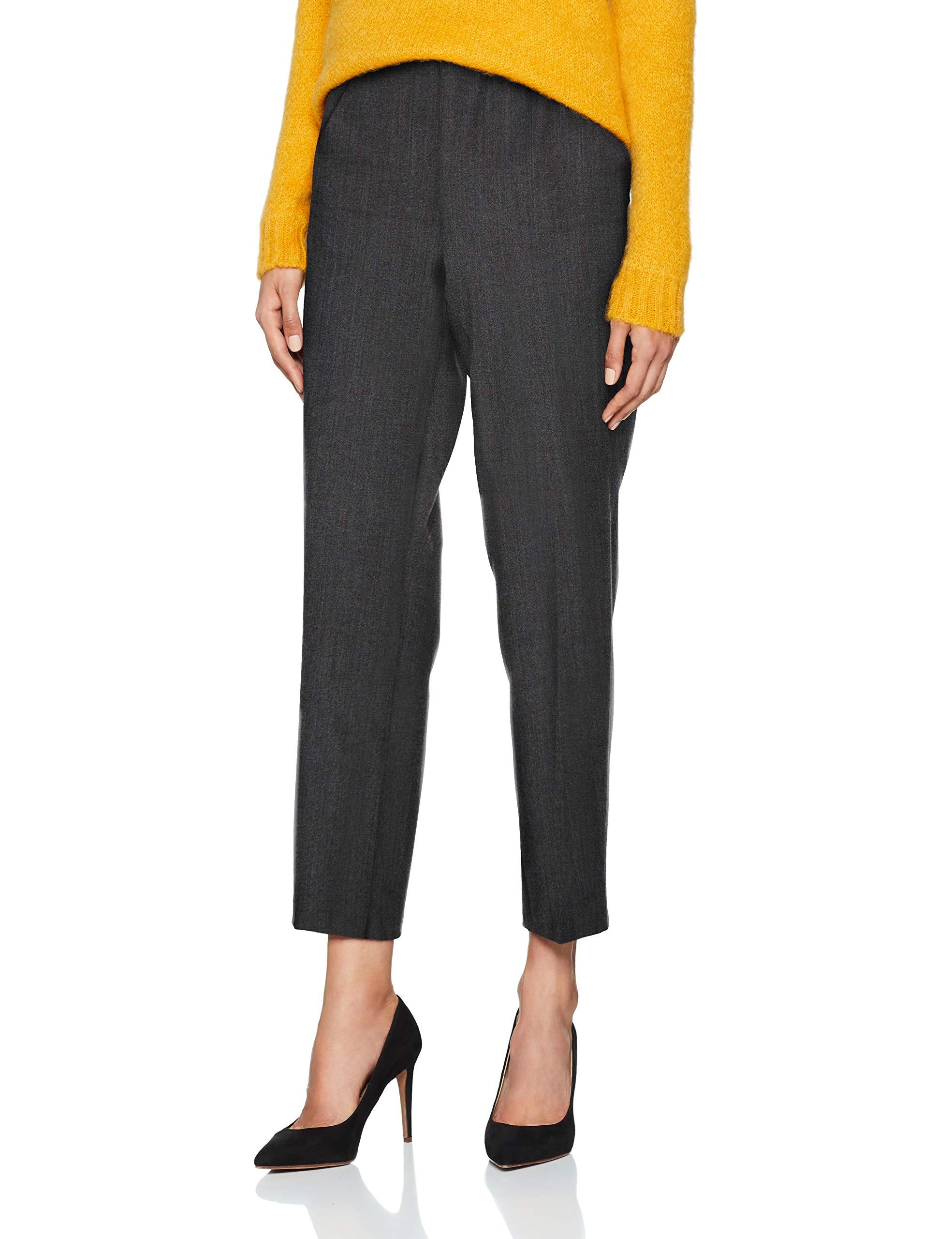 Droit Of 90742taille Colors Fabricant46 United TrousersPantalon Gray Benetton FemmeGrisdark CxorWdBe