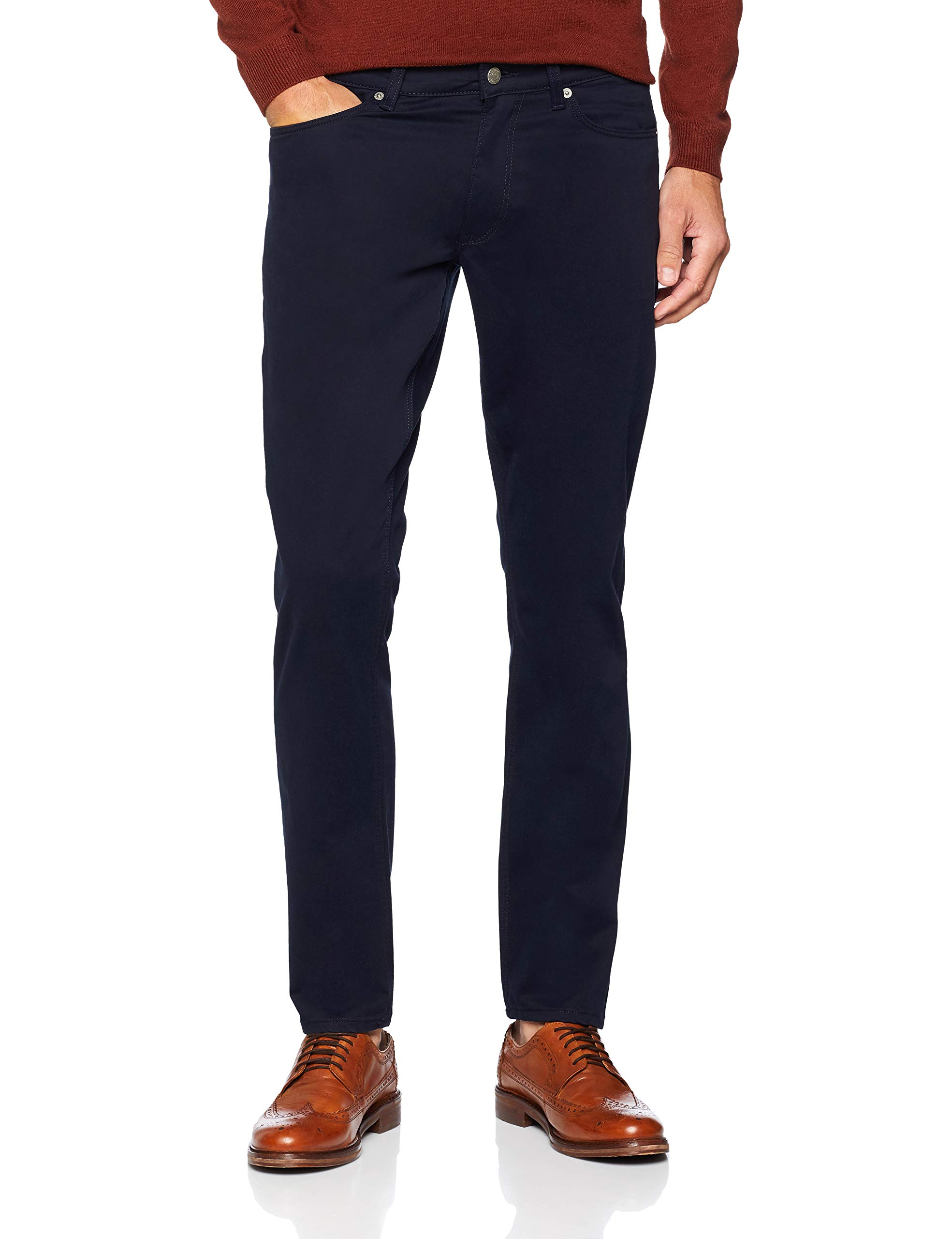 Jeans BlueW34 32Homme O1Tapered FuseauBleuevening Satin Gant l32taille Fabricant34 76bfgYy