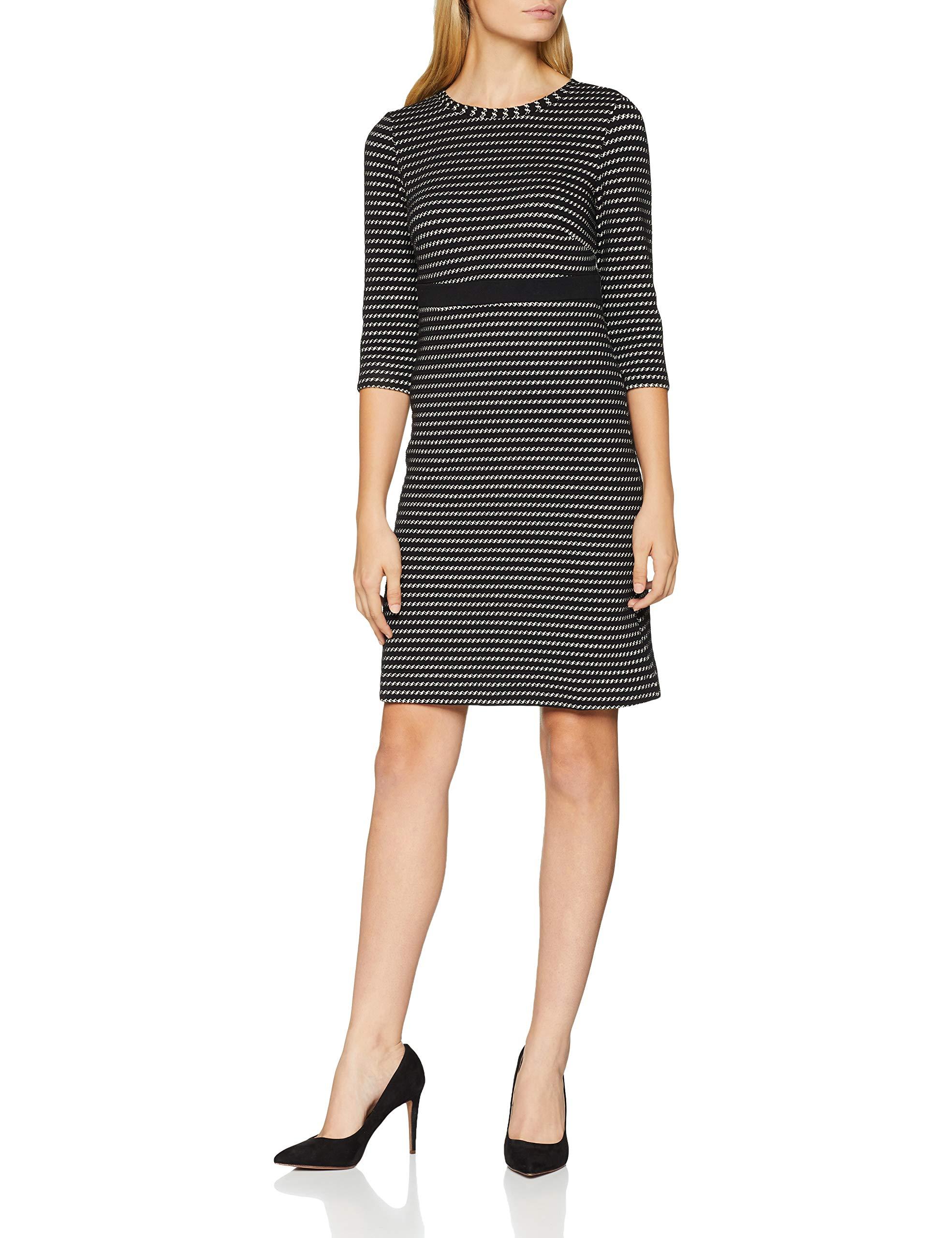 Moreamp; 279038 RobeMehrfarbigblack 2 Color Wirk Femme Kleid P08nkNOXw