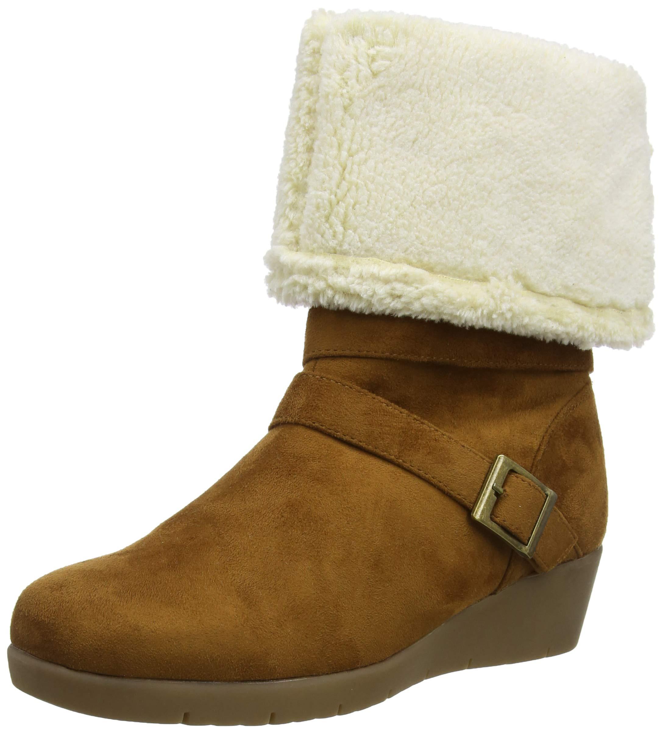 FemmeMarrontan Cosy Wedge Joe And Cute BootsBottes Eu A41 Browns SGLMVUqzp