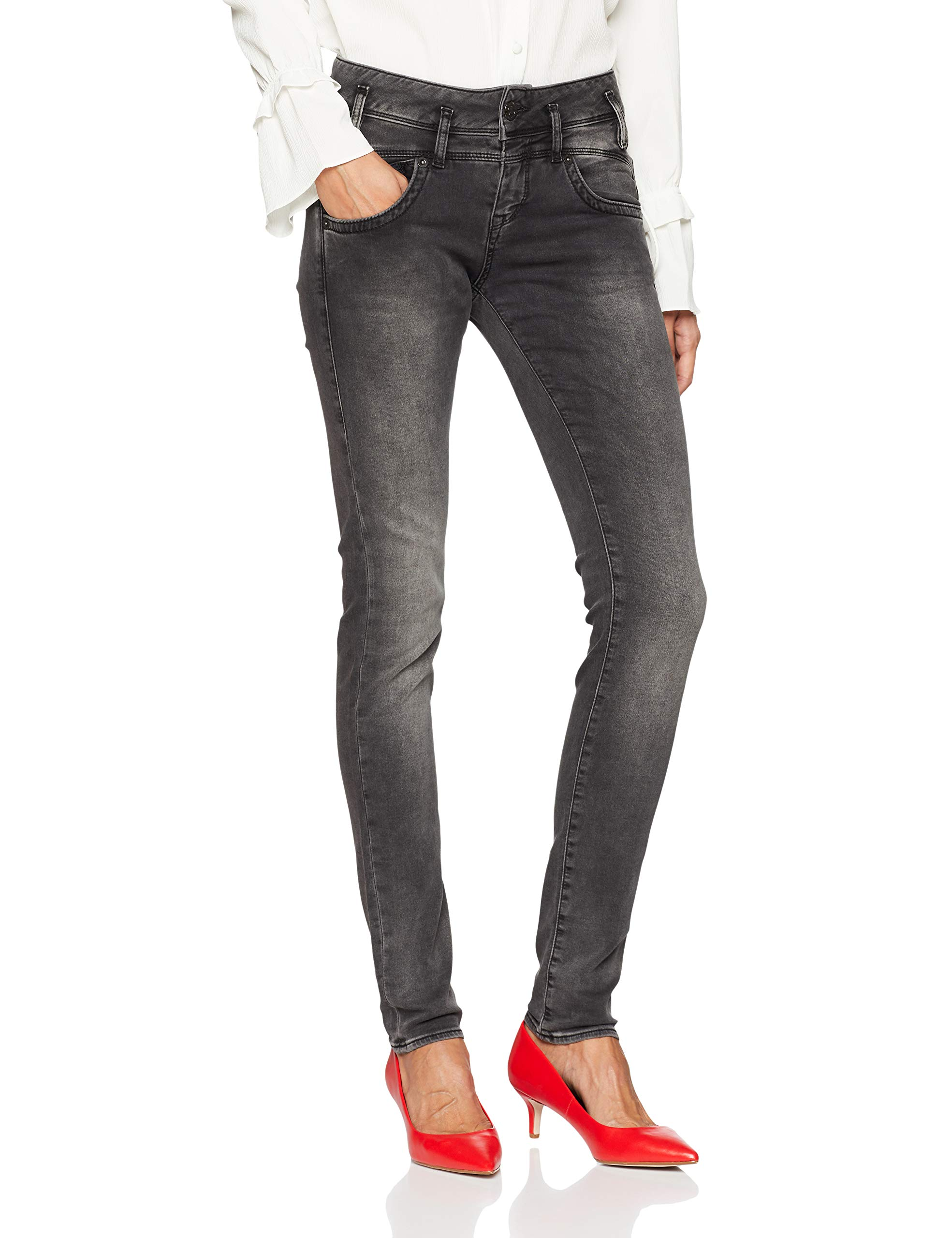 Femme Slim JeanSchwarzcharcoal 770W28 Herrlicher Pearl l33 OPwnk0