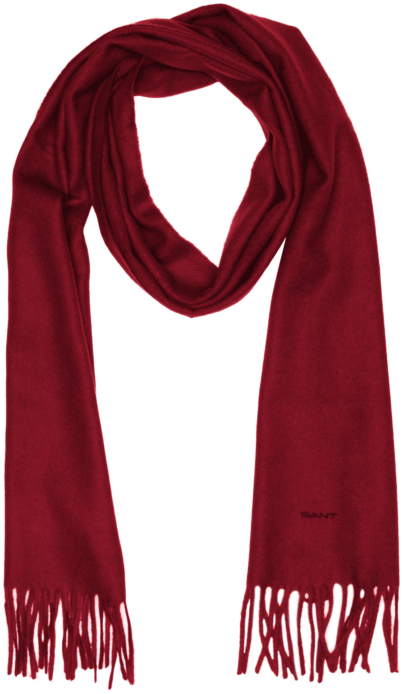 Scarf EcharpeRougewinter Lambswool Gant WineTaille Unique Solid Femme Woven wkilXZPTOu