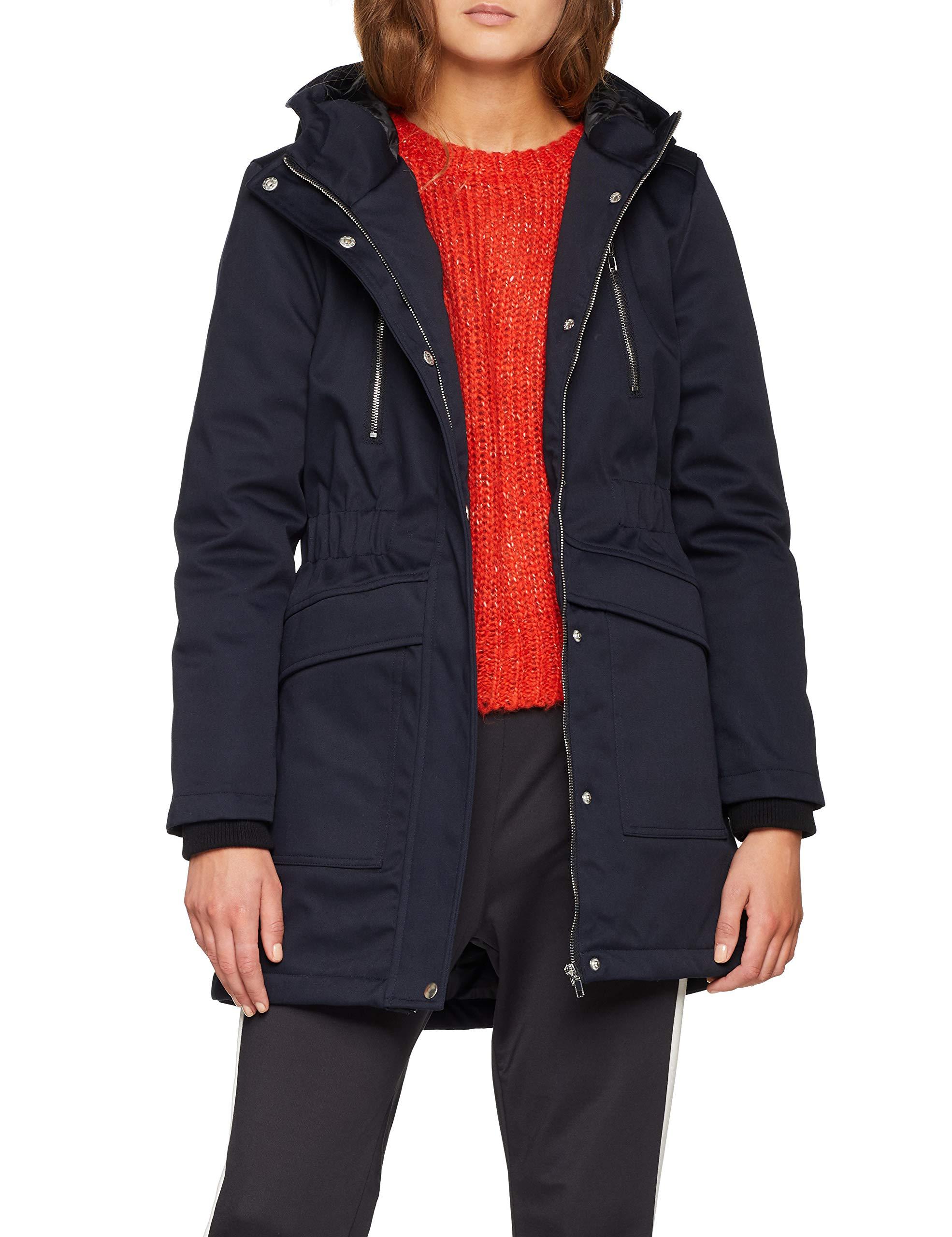 Coat Lenci Sparkz Femme ManteauBluenavy 78036 WD9b2IeEHY