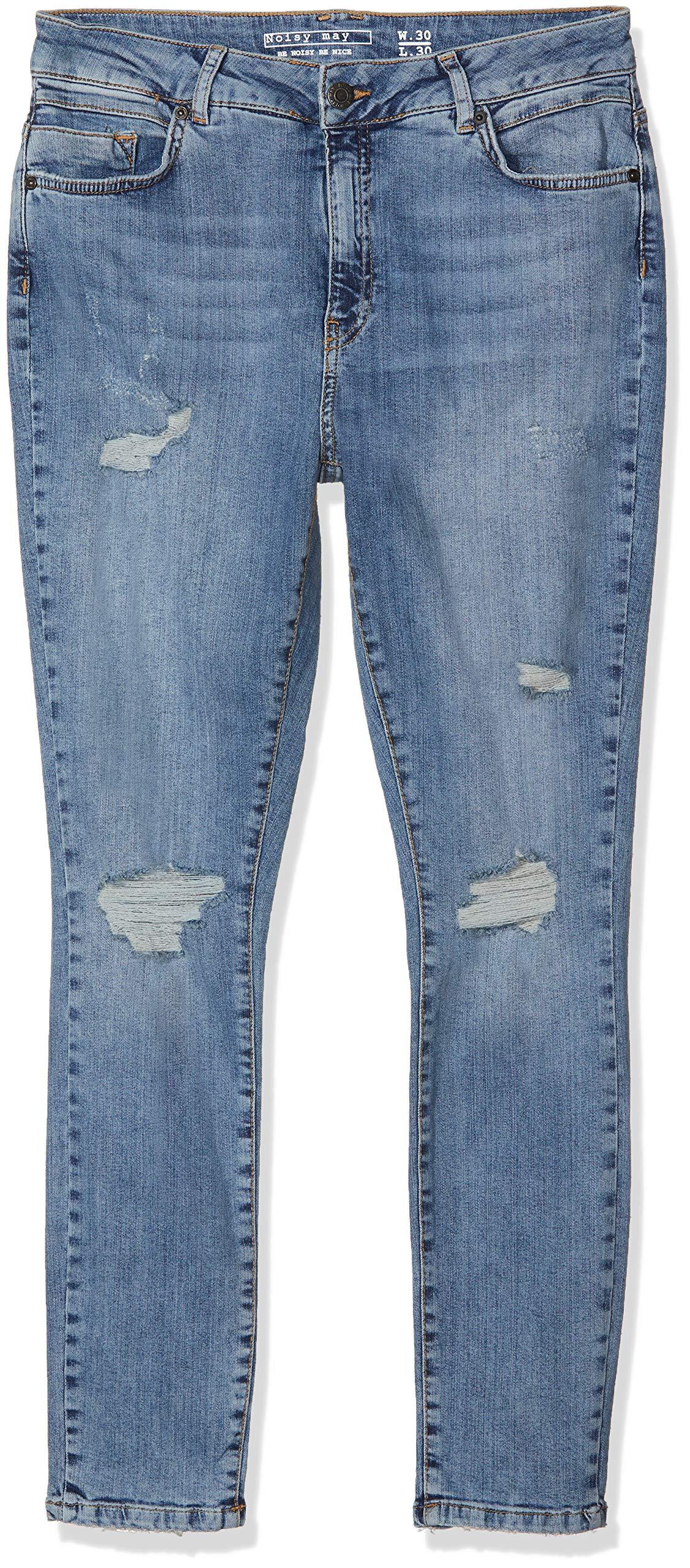 Noisy DenimW30 l30taille Lw Fabricant30Femme Medium Jeans Destroy May Nmnelly SlimBleu Blue Ba404 Noos BdCxWQoeEr