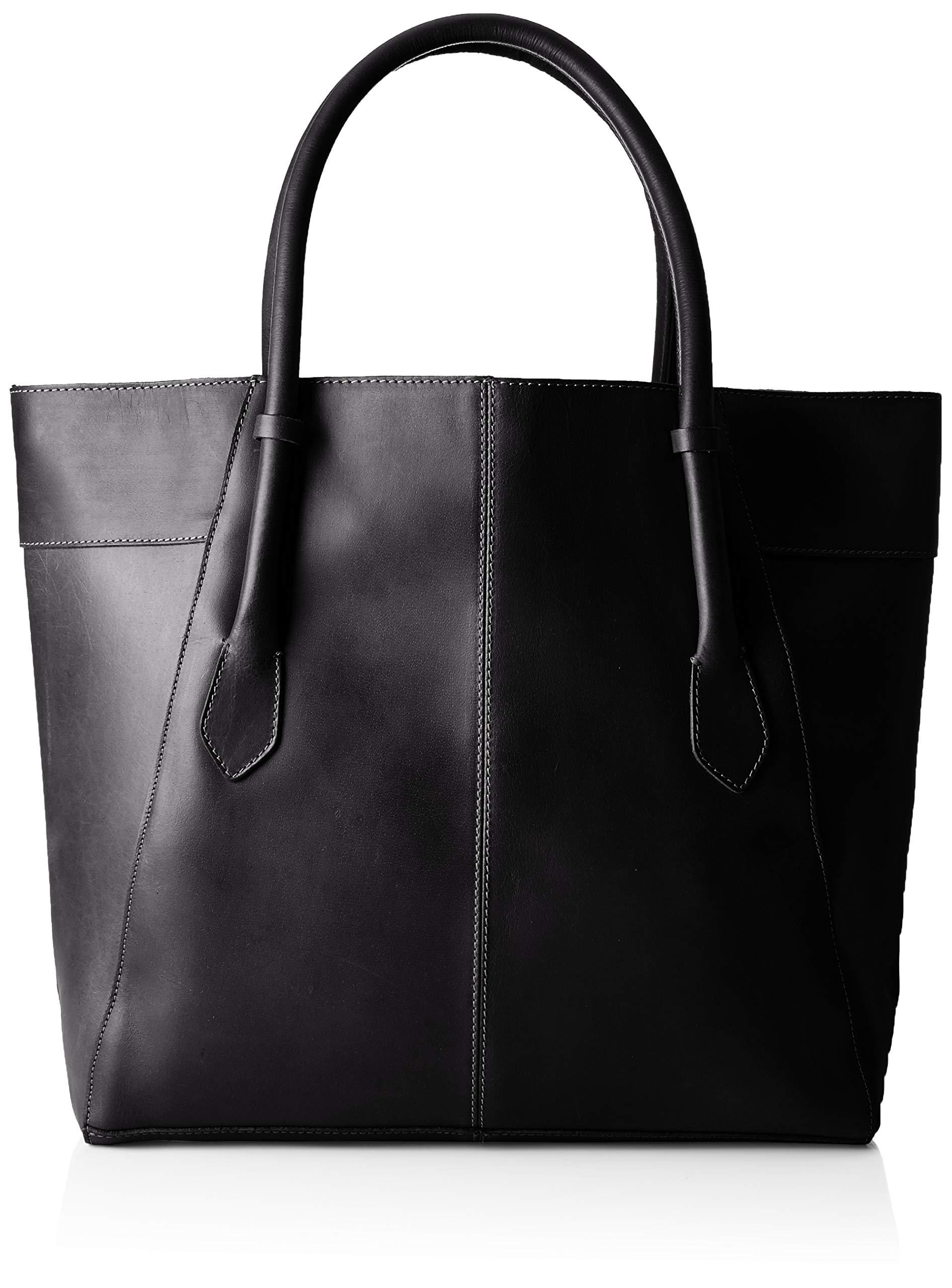 FemmeNoirblack12x34x45 Cmb X Pctamela Épaule T H Portés Pieces Leather ShopperSacs GUMzVjLqSp