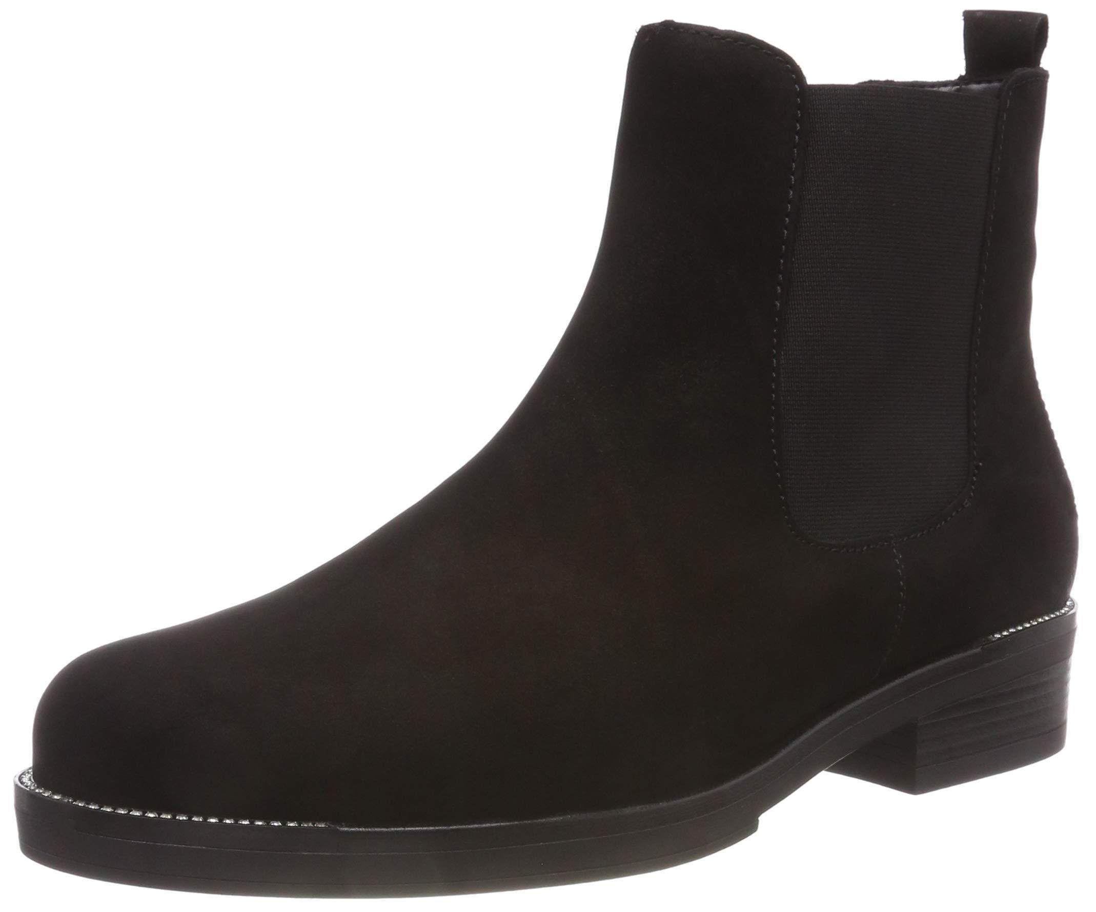 Shoes Chelsea FemmeNoirschwarzstrass1740 Eu Gabor FashionBottes AR34Lq5j
