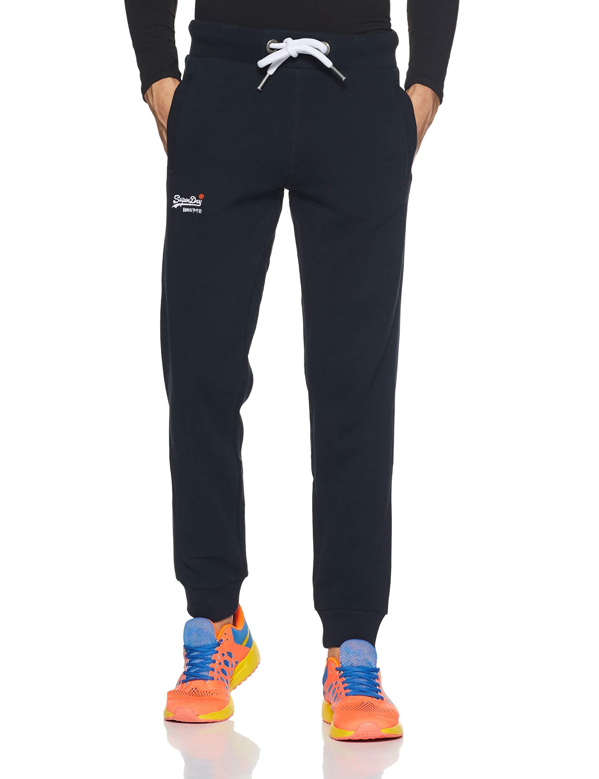 Jogger Navy Superdry SportBleueclipse FabricantXxx Label Pantalon 98t50taille largeHomme Orange De DH9IE2