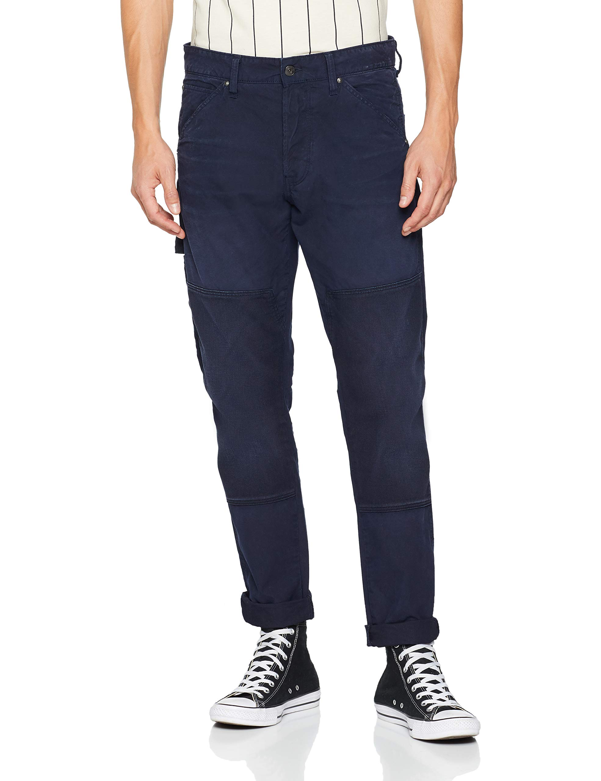star Blue Homme Classic G 9740 606736w34l Faeroes Tapered Raw JeansBleusartho j54RLA