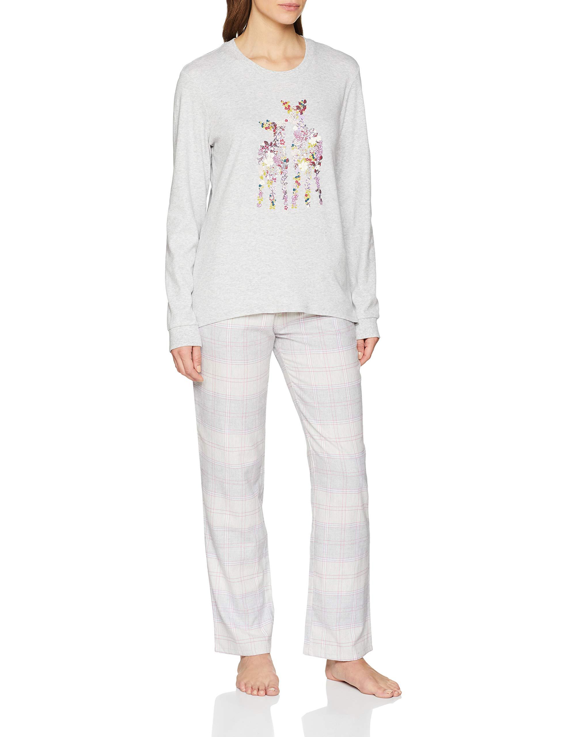 Grey Melange Femme Triumph Aw18 01 Sets Ensemble PyjamaMulticoloremedium M03342 De Charakter Pk 35LA4Rj