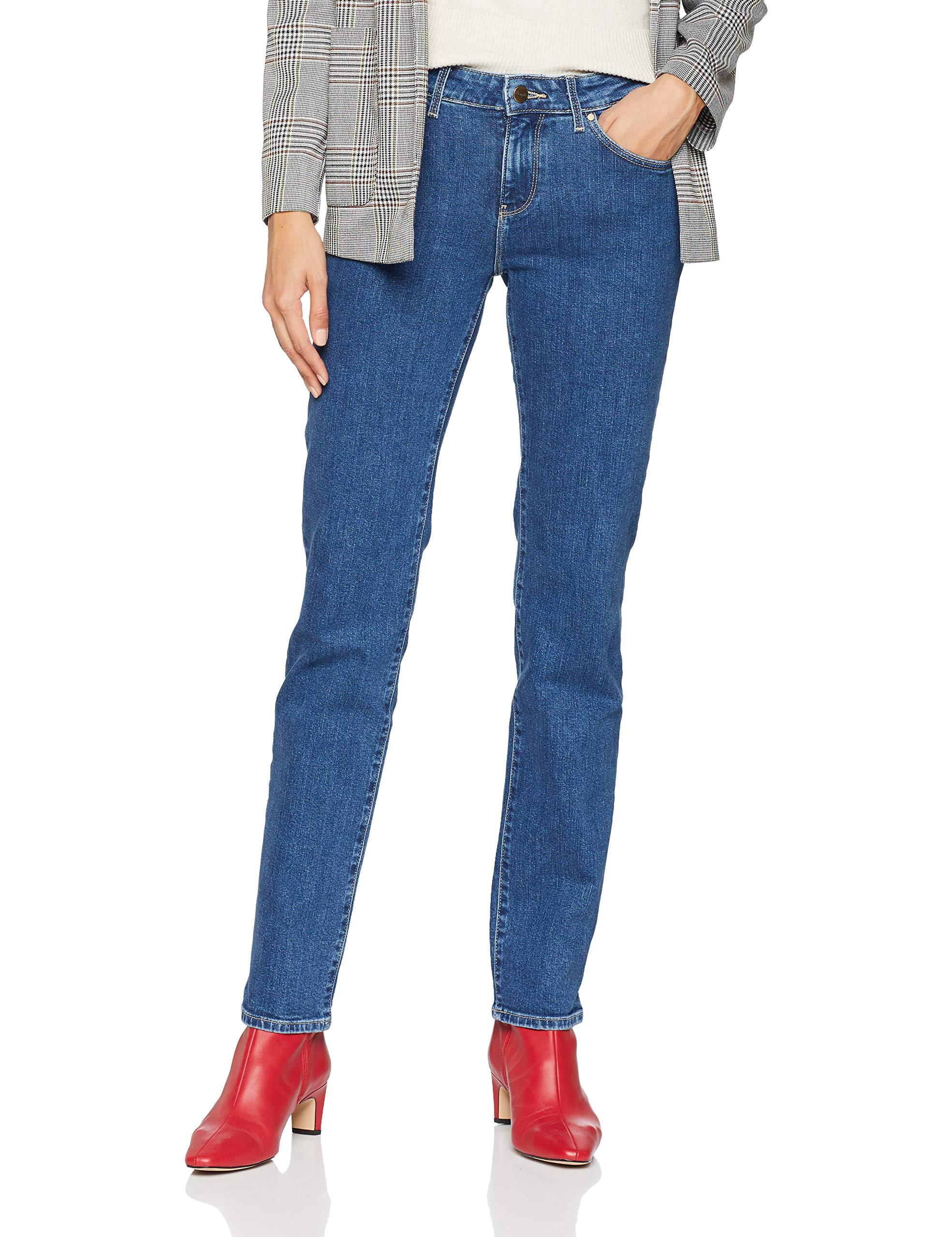 Rocks Straight' JeansBleumid 32e33w30l Femme Wrangler OuwTZiPkX