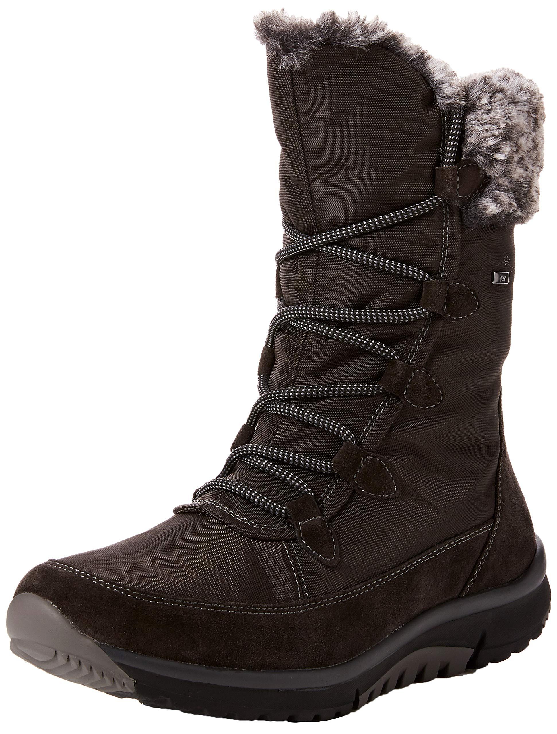 Hautes greymel3936 FemmeGrisdark Shoes Eu Gabor RollingsoftBottes iTOXPkZu