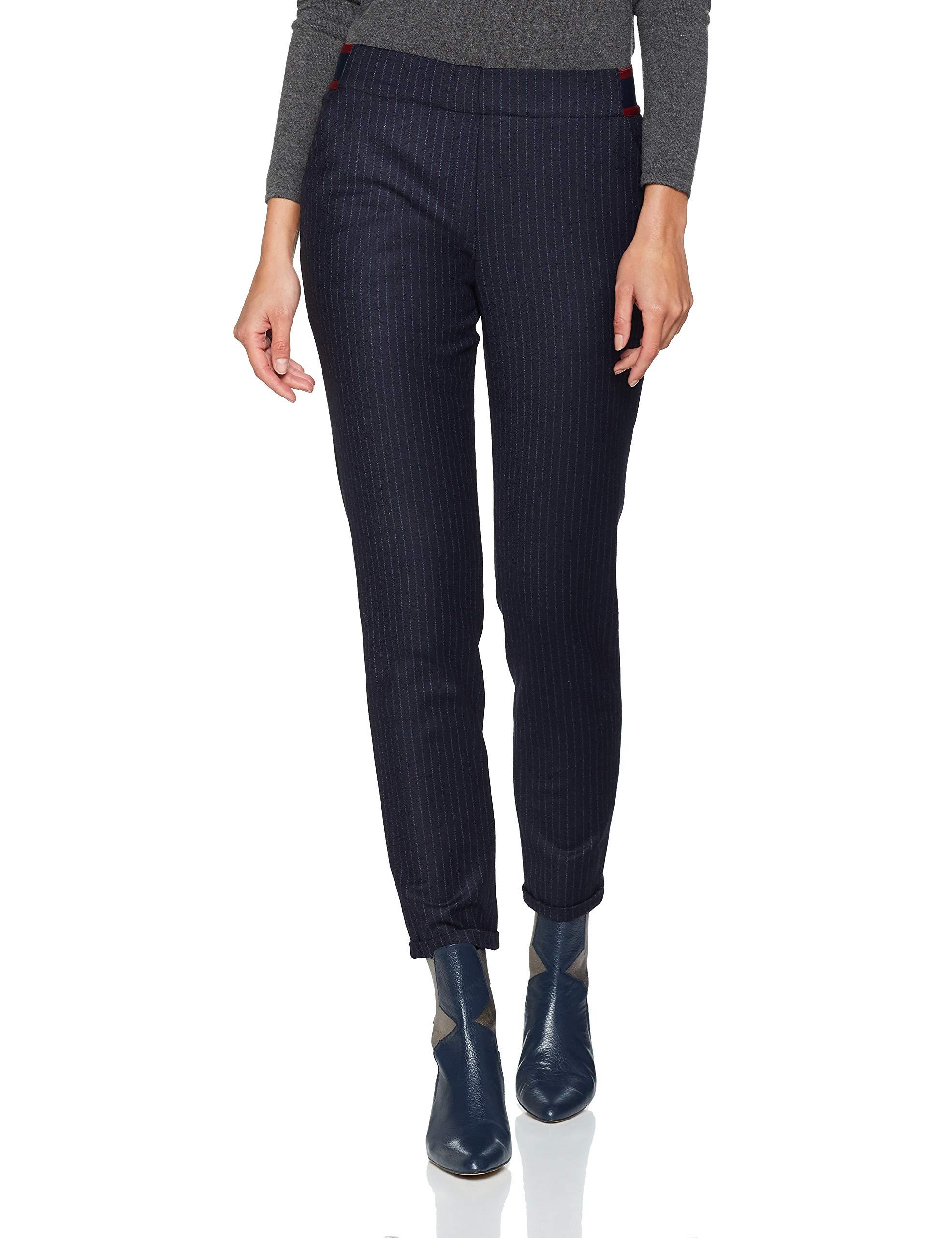Daniel Hechter 690W42 PantalonBleumidnight Femme Trousers Blue 1TKJlFc