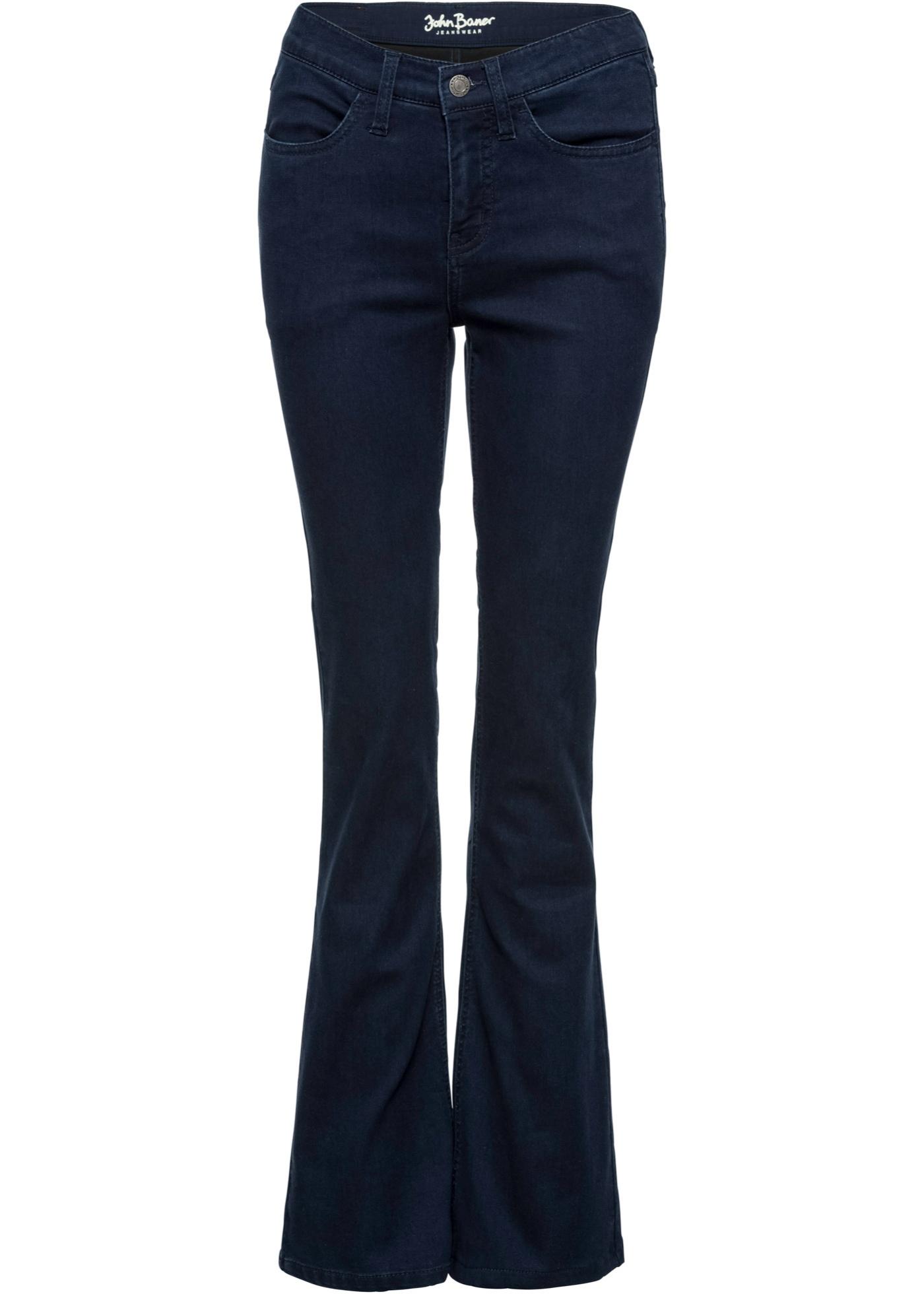 Jeanswear John BonprixJean Baner Bleu Super Pour Femme ThermoBootcut stretch jL4RA53