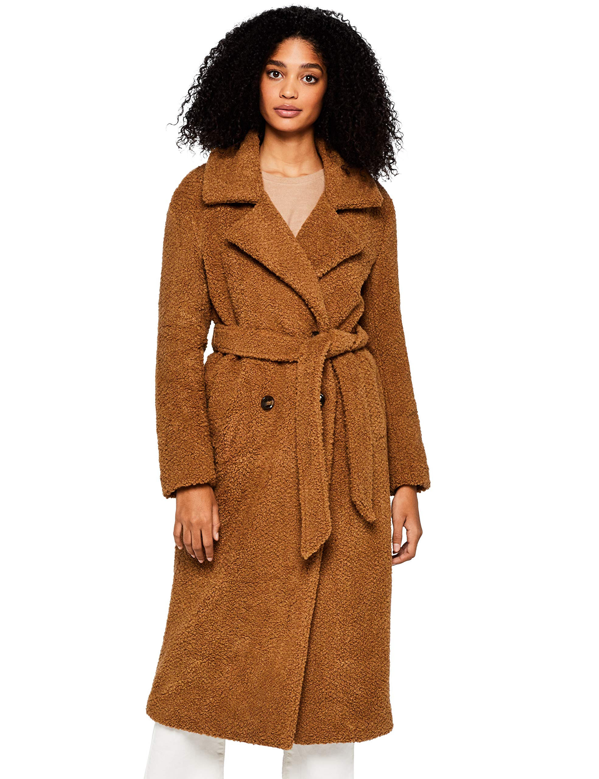 Coat FindLongline Brown42taille Teddy FabricantLarge BlousonMarron xhQrtCsd