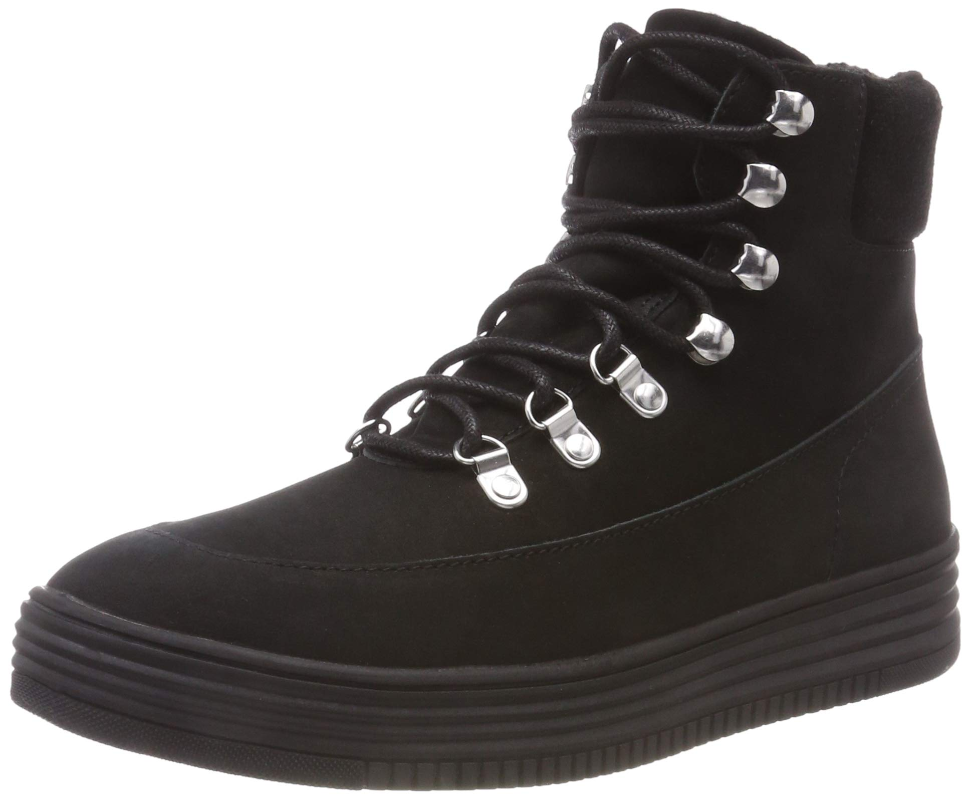 Warm BootBottines FemmeNoirblack 10237 Bianco Eu Hiking FJT1clK