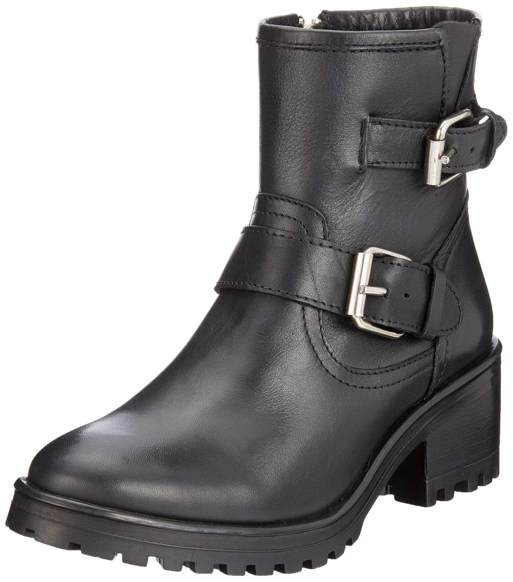 Classiques Madden FemmeNoirblack AnklebootBottes Steve 01739 Gain Leather Eu wOkiZPuTX