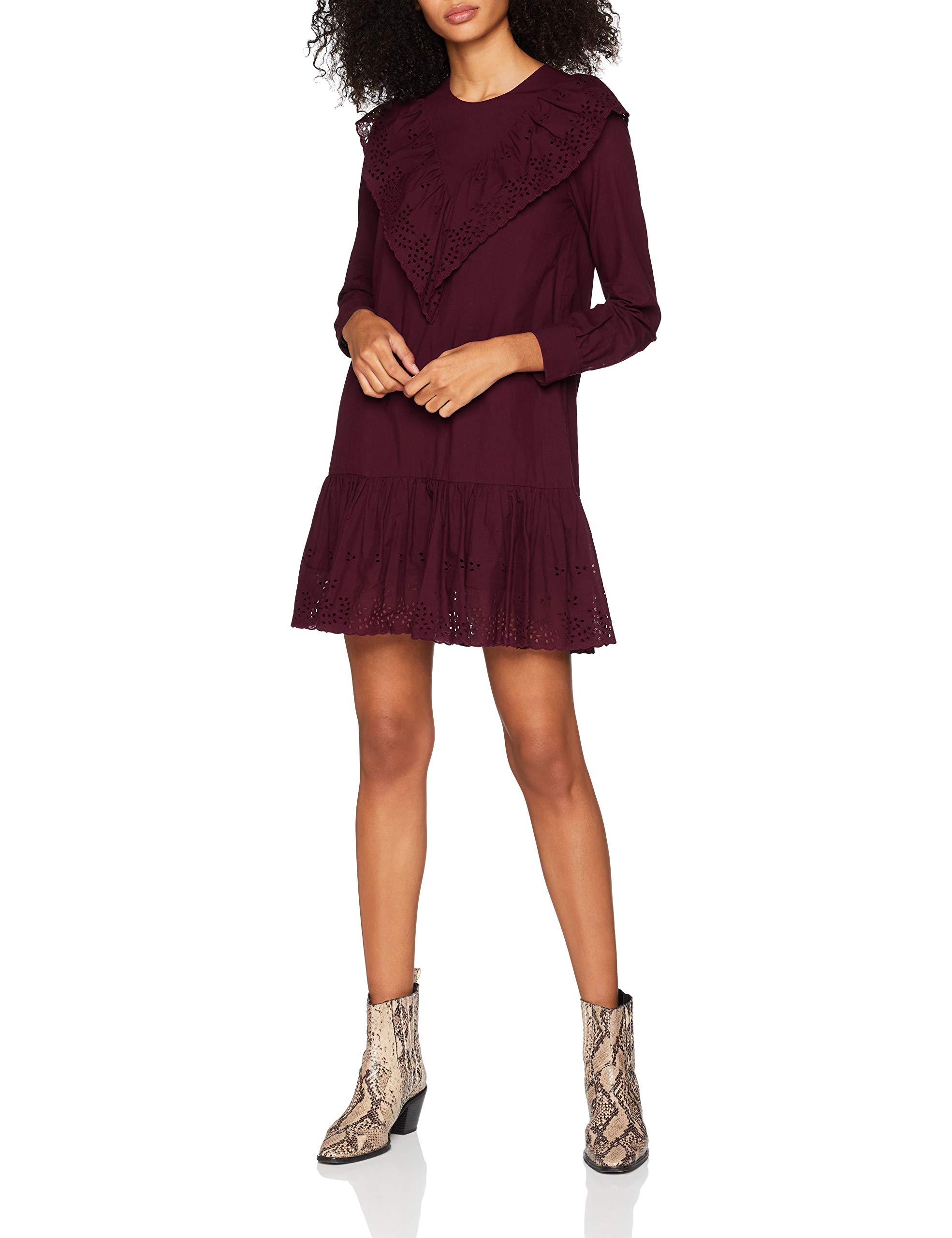 Paulamp; 04638taille 8orlane RobeRougebordeaux Sister Fabricant36Femme Joe burgundy 8OPXNkwn0Z