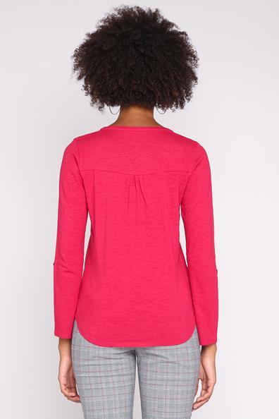 S T Tunisien Rouge shirt CotonFemme Longues Taille Cache Col Manches À Pnk8O0w