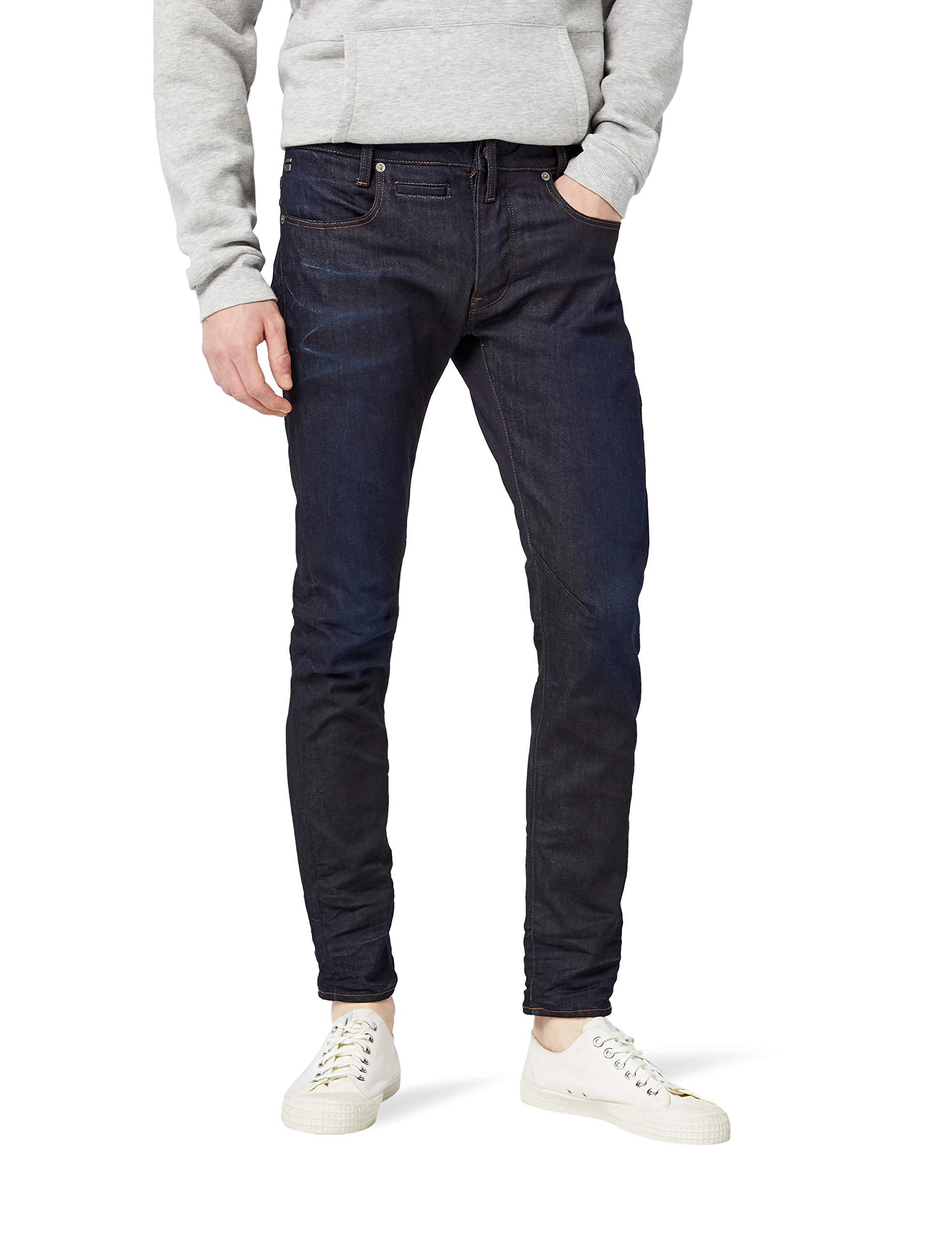 8934w34l 5 Aged pocket 7209 Homme star DStaq Slim Raw JeansBleudk G orCxhdBtsQ
