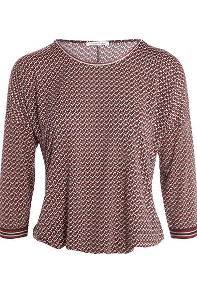 Cache 3 shirt T ElasthanneFemme Taille Xl Rouge Manches 4 Liserés VpqMSUz