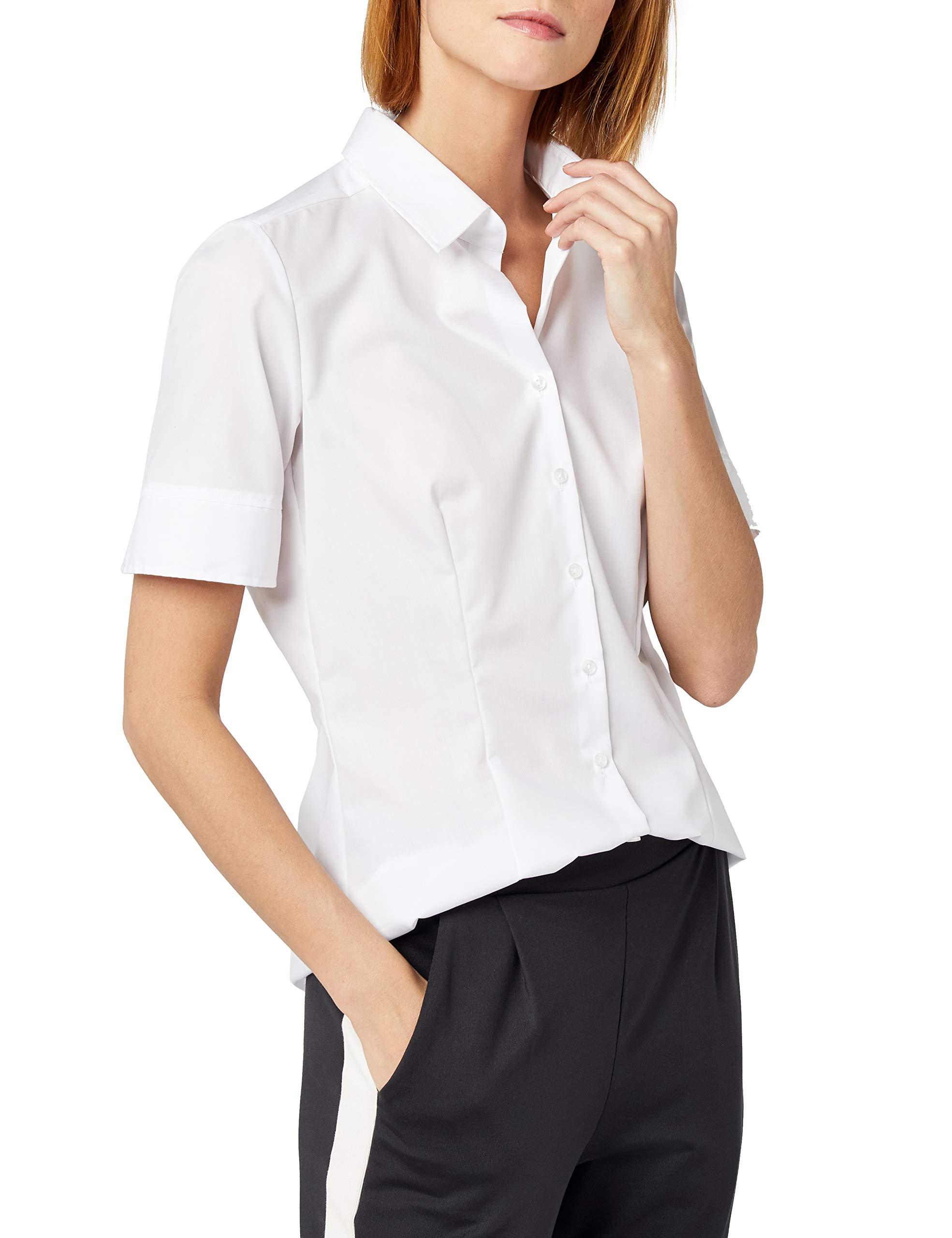 42 Blanc1TailleFr44taille Seidensticker080605 Femme Chemise Fabricant qMpUVSjLGz