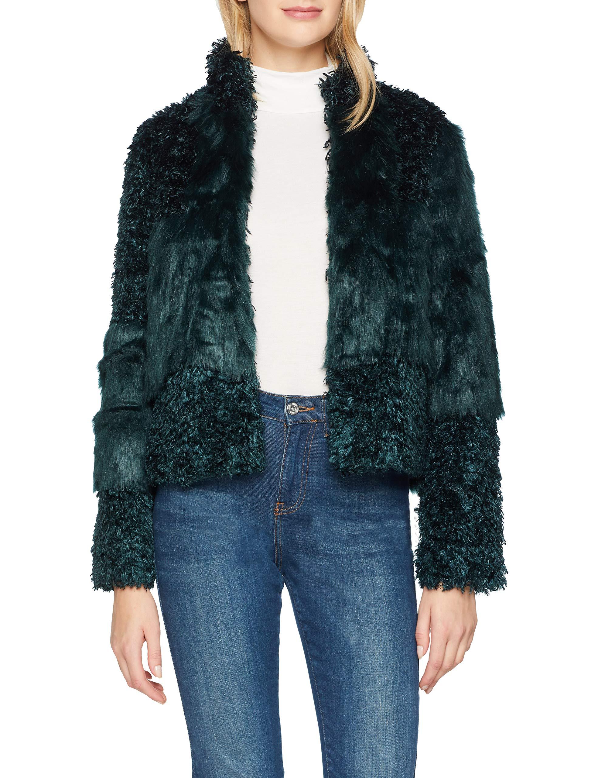 6128448 Cassie Jacket Cream BomberVertfall Fur Femme Green BoerCdx