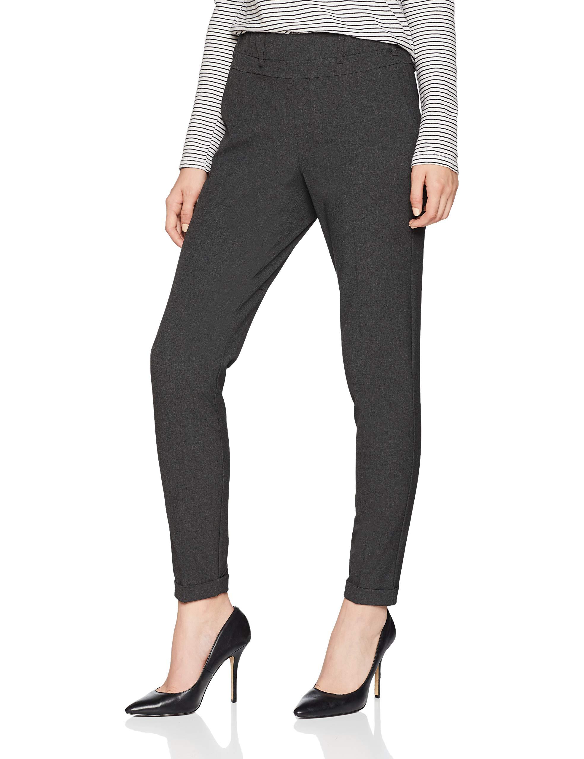 Nanci Melange Kaffe Grey 50016W25 Pant Jillian PantalonGrisdark Femme dxoCBerW