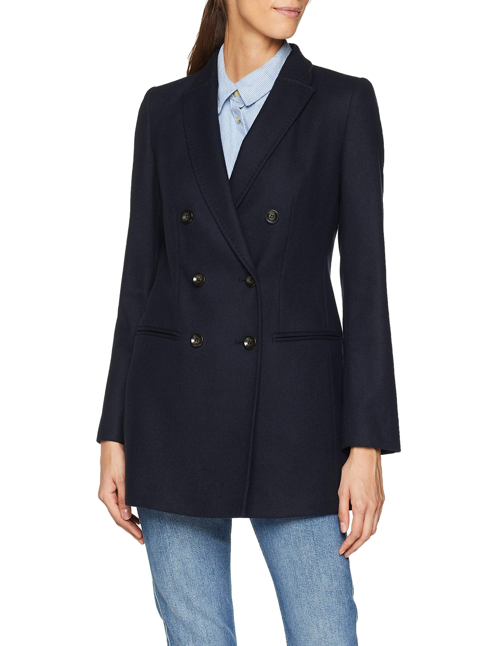 Longline Millen BlousonBleunavy36taille FabricantUk Jacket Karen 8Femme Db 3RqAL45j