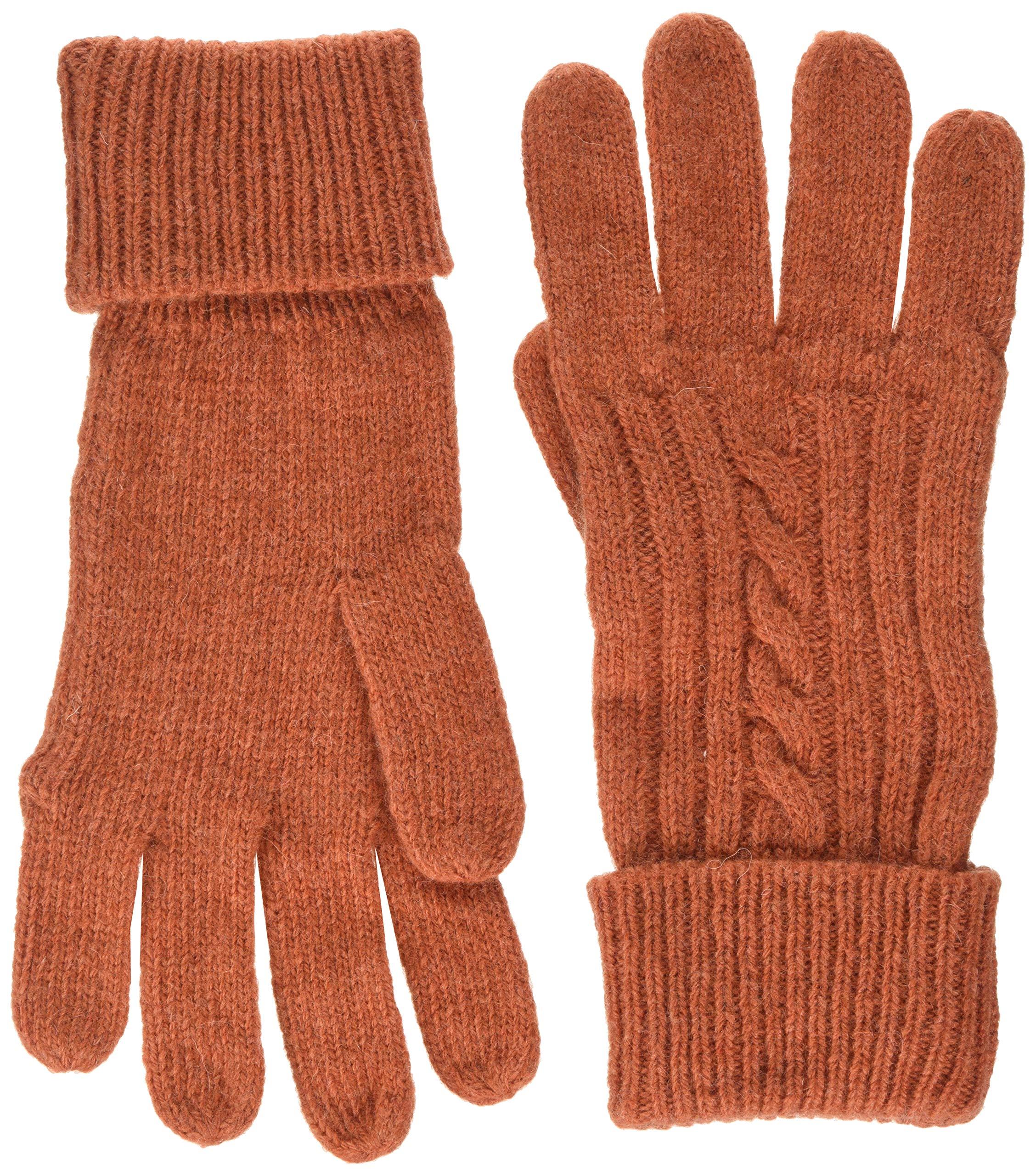 O2Cable Unique Knit Gant OchreTaille GlovesOrangeburnt Femme CQrshtxd