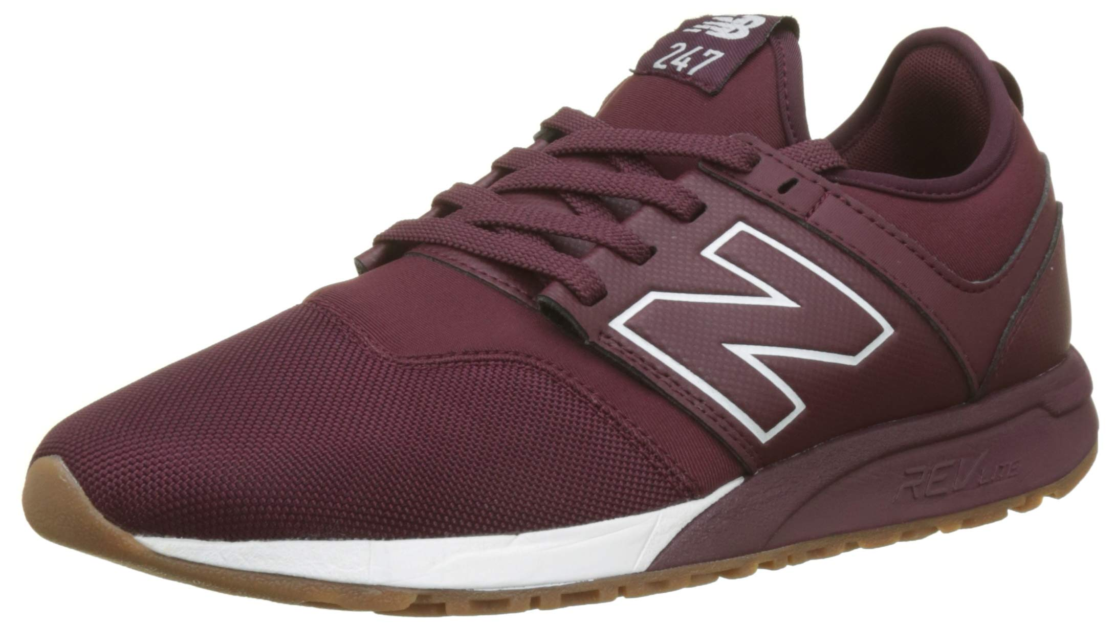 247v1Baskets Hj42 Burgundy Eu New Balance HommeRougenb 5 white A5RL4j