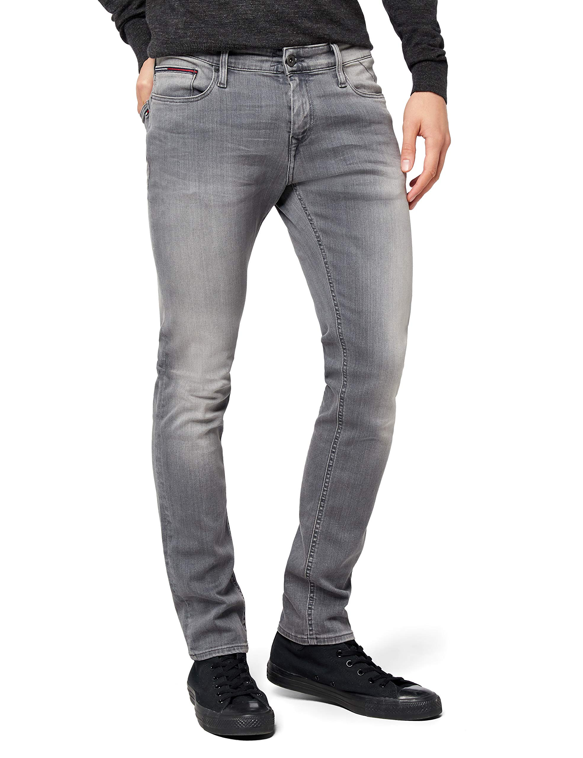 Tommy GrcoHommeGrisW30 Jeans Denim l34 Skinny Hilfiger Sidney dxsQrCthB