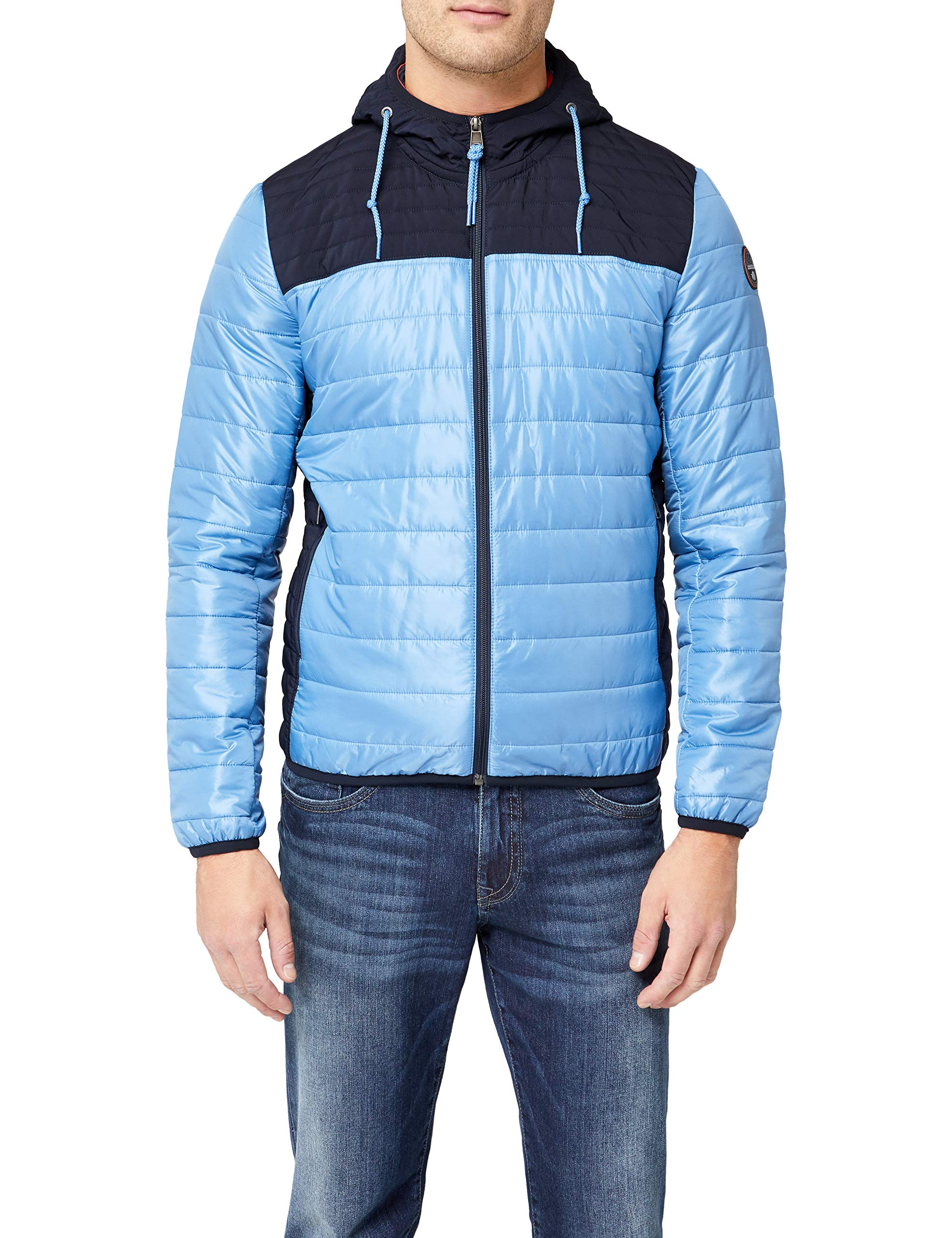 Napapijri Homme Blue Bc2Large Albury BlousonTurquoiselight YHe9EWD2I
