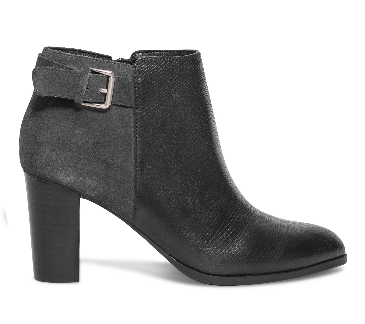 Boucle Cuir Et Boots Eram Noir Gris 6fbgyY7v