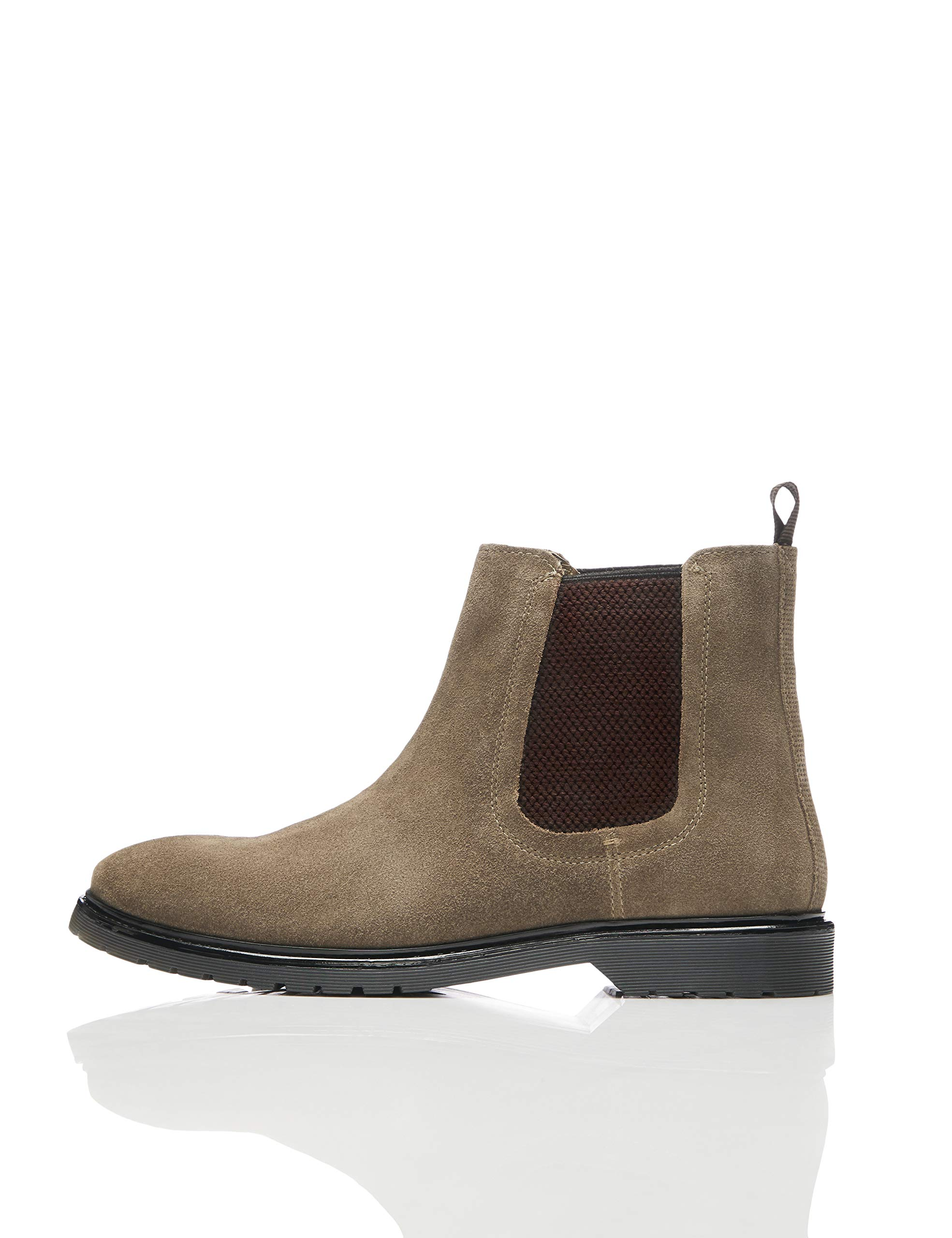 Cleated ChelseaMarron Brown47 Eu Bottes FindLeather TK13clFJ