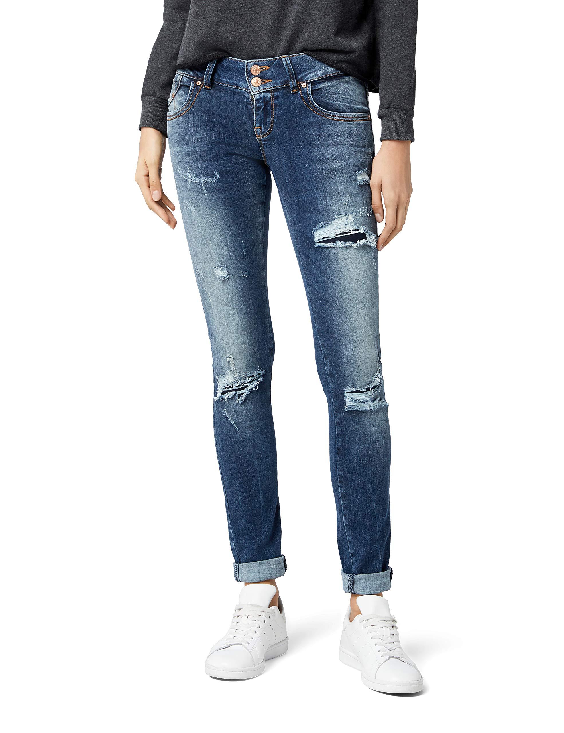 51260taille Du Ltb SlimBlaurennis Fabricant27 Jeans Jean Wash Molly 32Femme eYEH9IW2Db