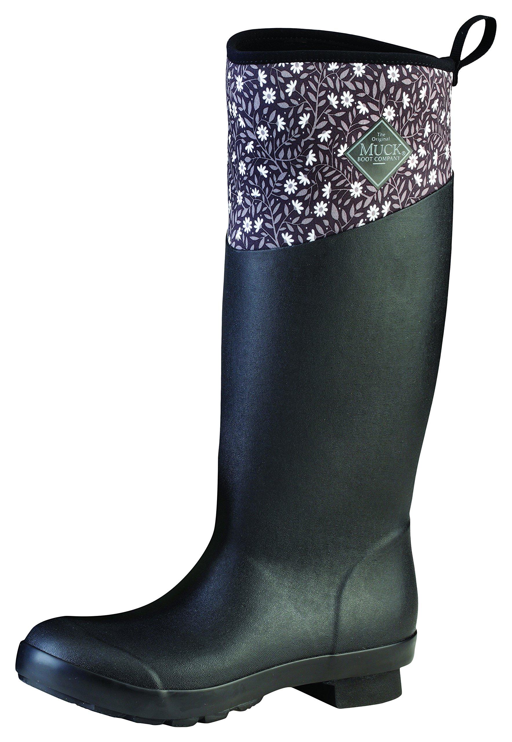FemmeNoirblack TallPrintBottesamp; 40 Tremont Pluie Boots Eu De Wellie Muck Matte Bottines castlerock Gray39 lK1JTc3F