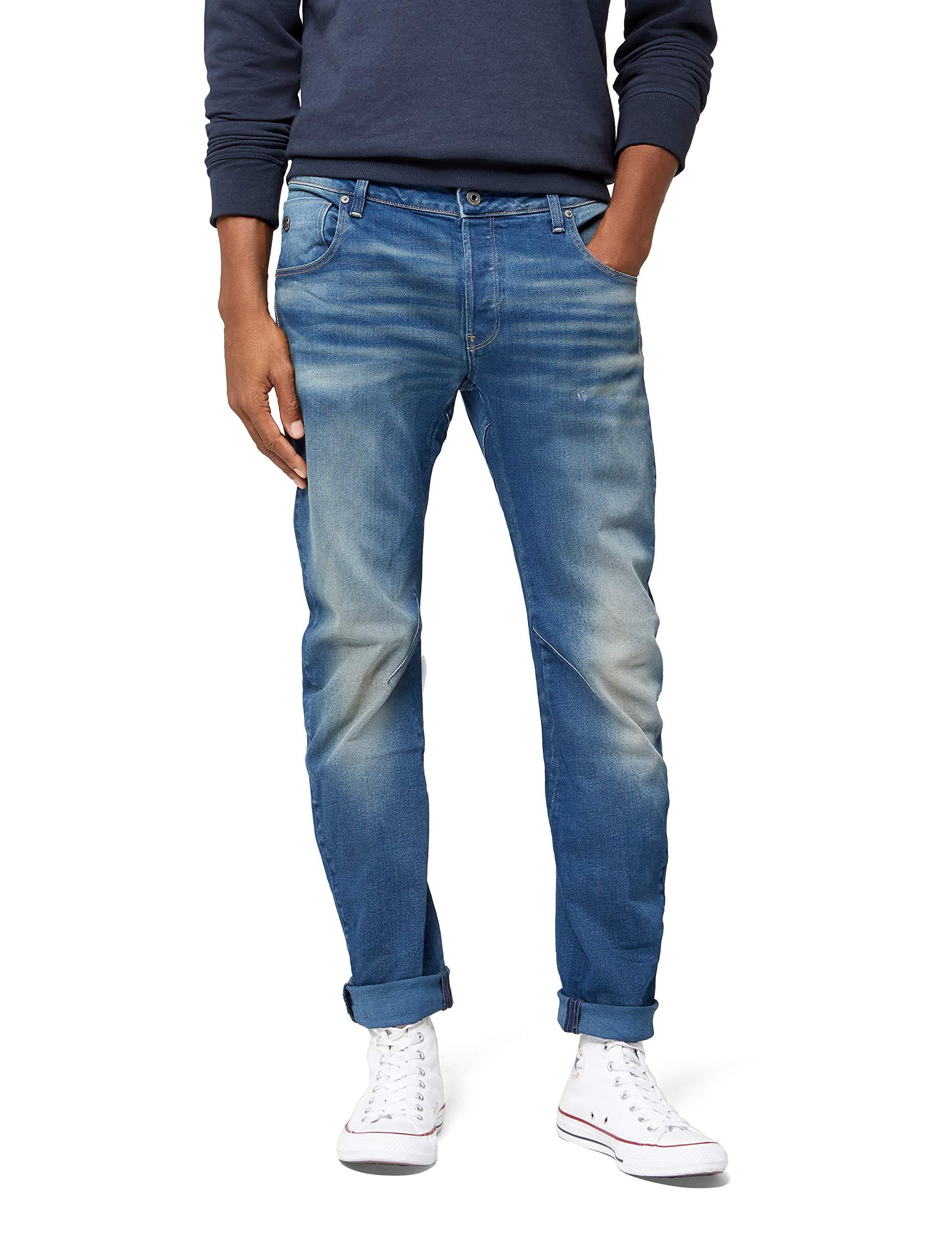 SlimJeans Aged Arc star G Raw 3d 071W27 HommeBleumedium l30 WEHID29Y