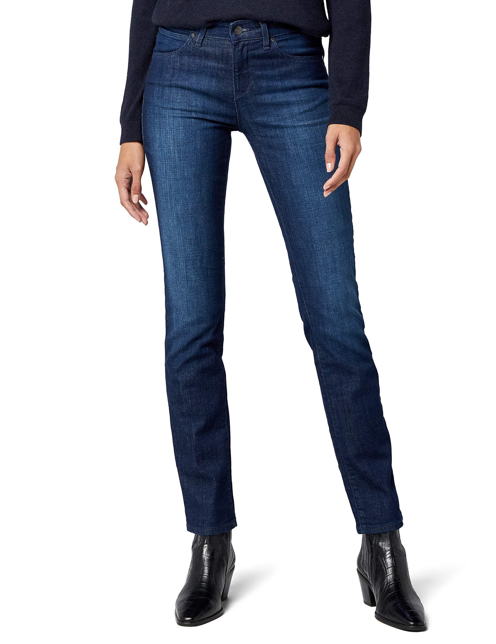 BlueJeans l34 BlueW31 Wrangler Straight Subtle FemmeBleusubtle l3TcFK1J