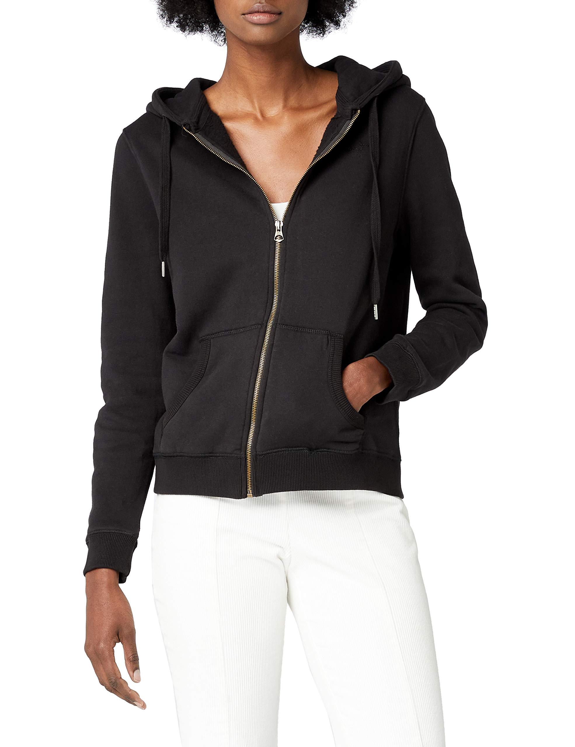 NoirblackXx Zip Femme Fabricant Sweat Ladies À xxs smalltaille shirt Capuche Jeans Pepe Thru y76gbYf