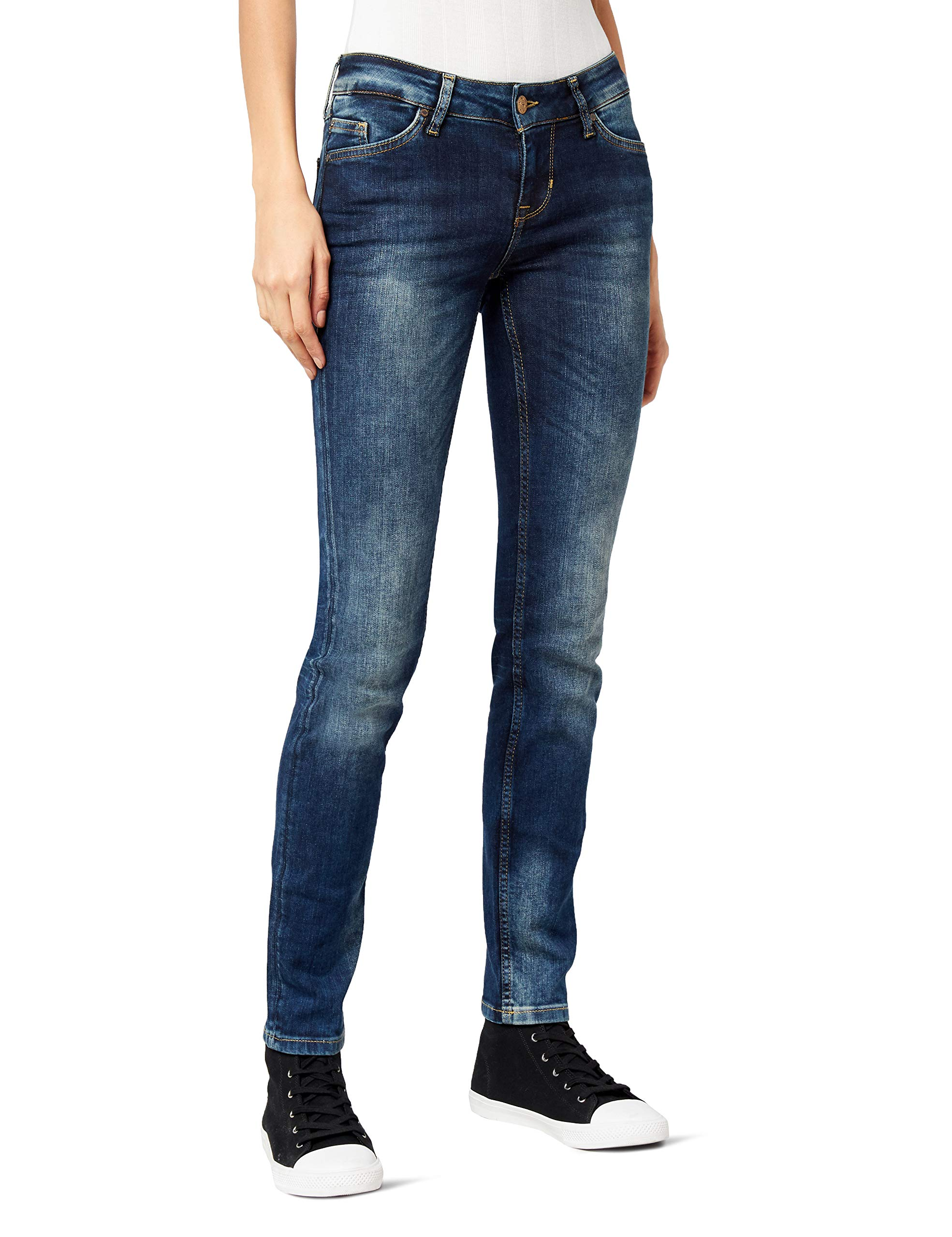 Mustang Jasmin Used l32taille JeansBleudark 32Femme 586W27 Fabricant27 9ID2YEWH